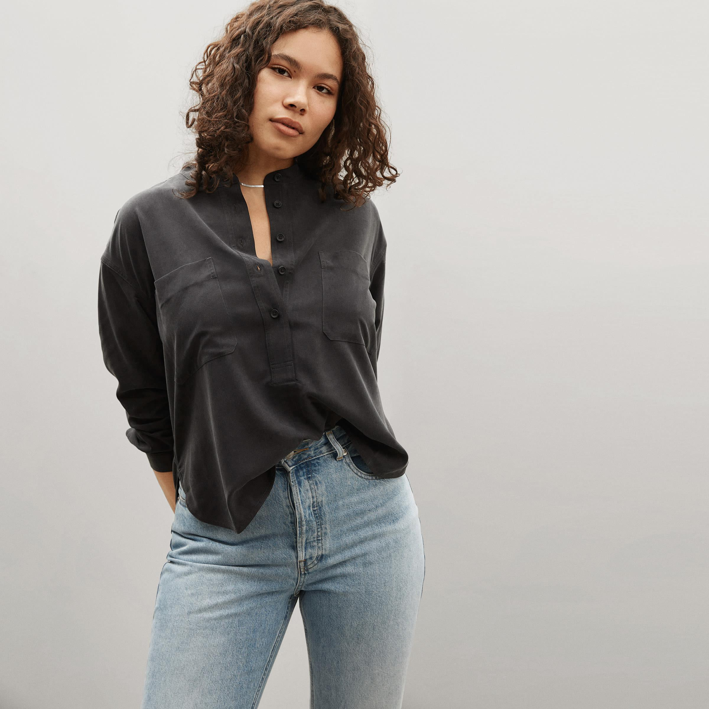 The Washable Silk Henley