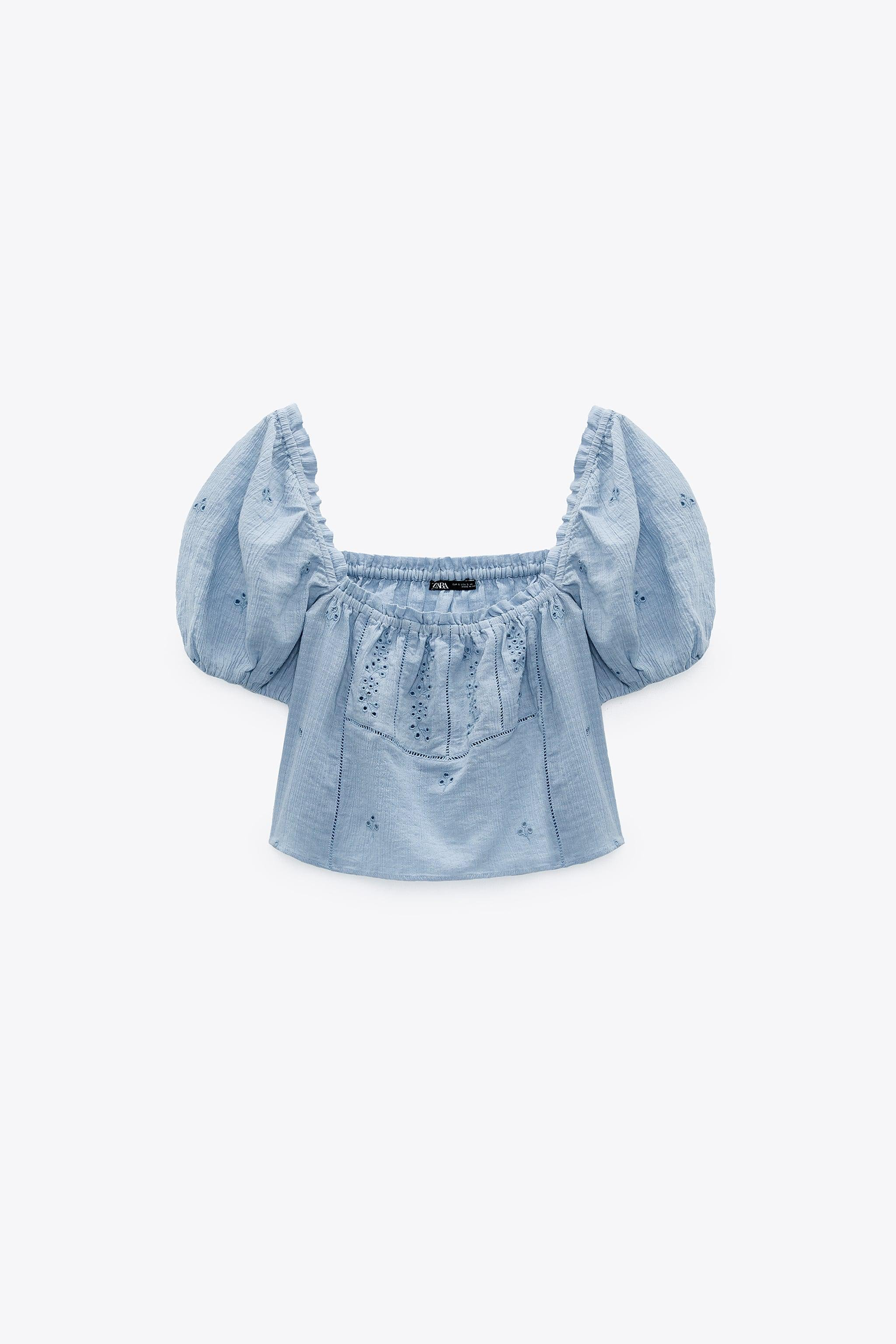 OPENWORK EMBROIDERED TOP 6