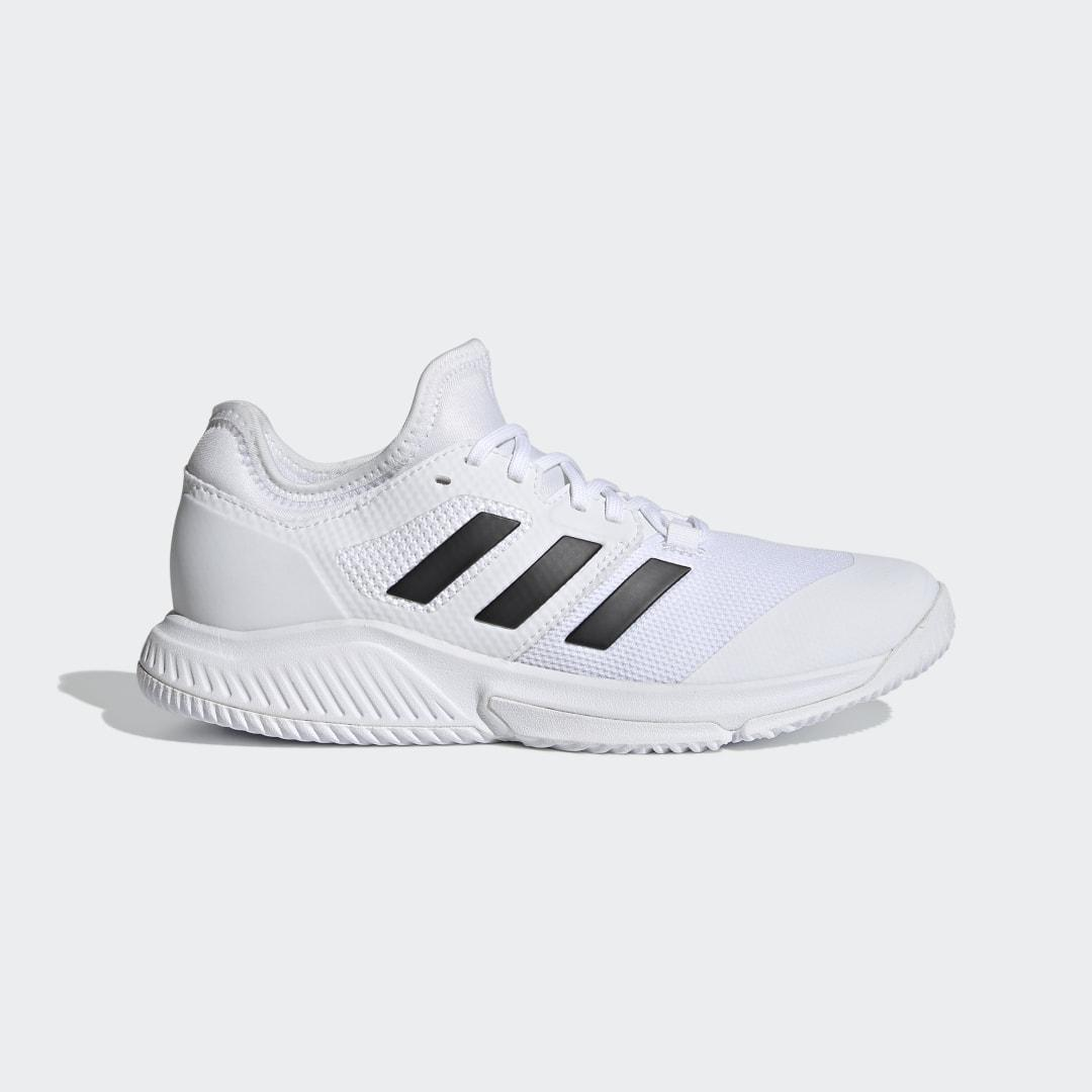 Court Team Bounce Indoor Shoes White 5