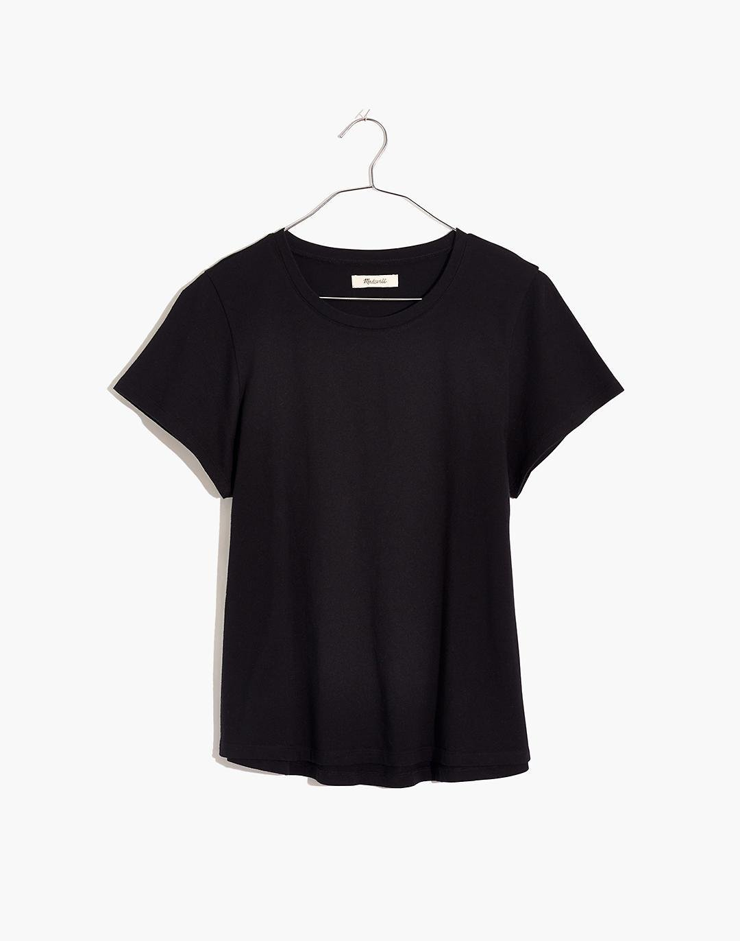 (Re)sourced Cotton Swing Crop Tee