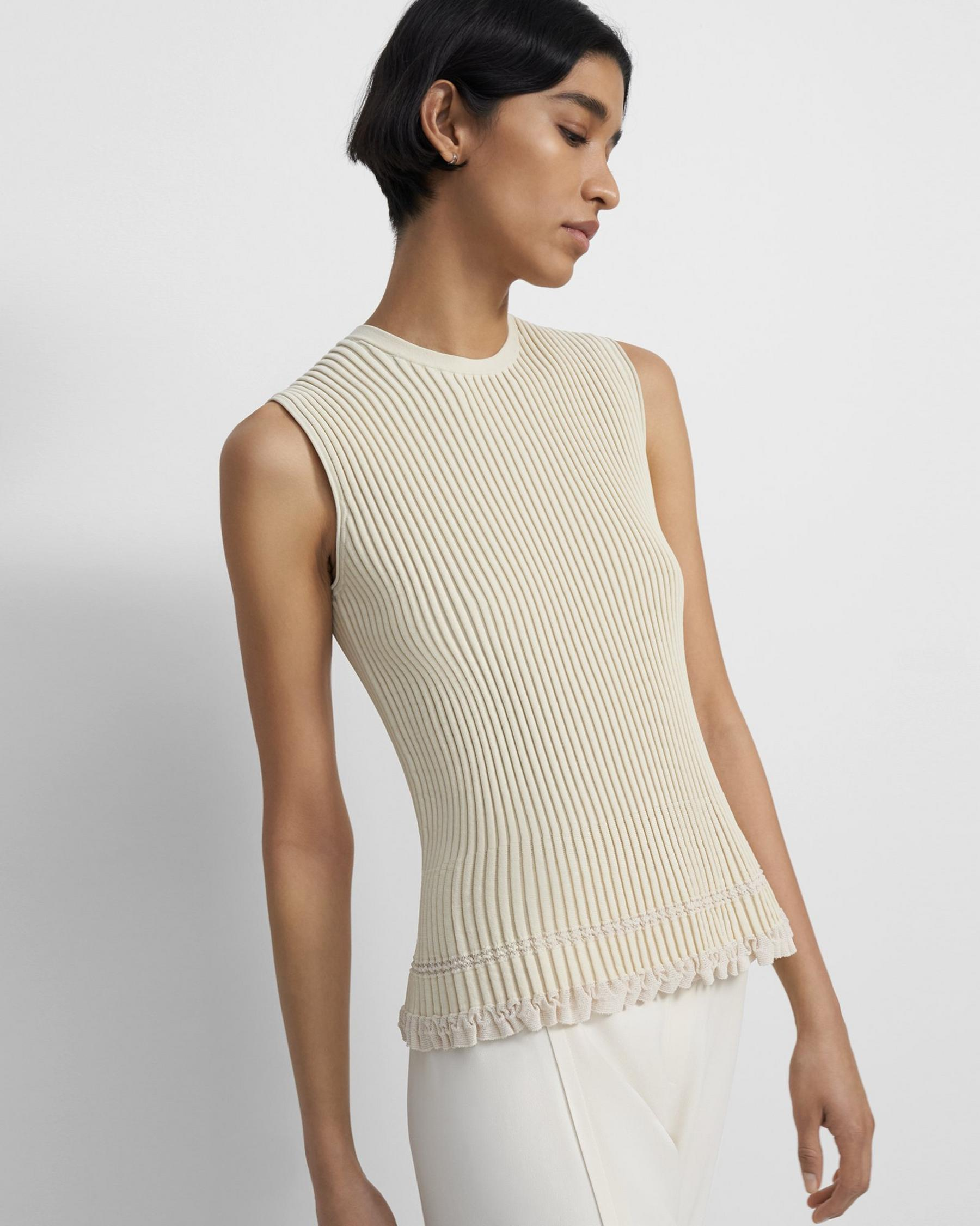 Shell Top in Eco Knit 1