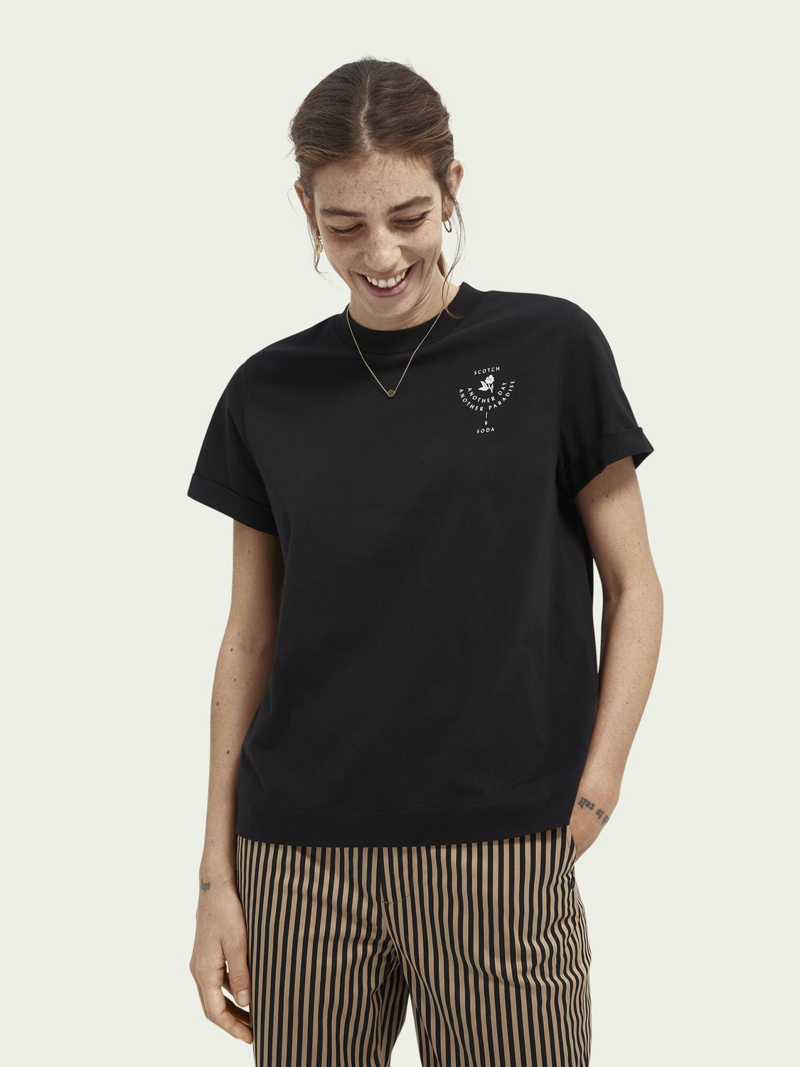 Graphic relaxed-fit T-shirt