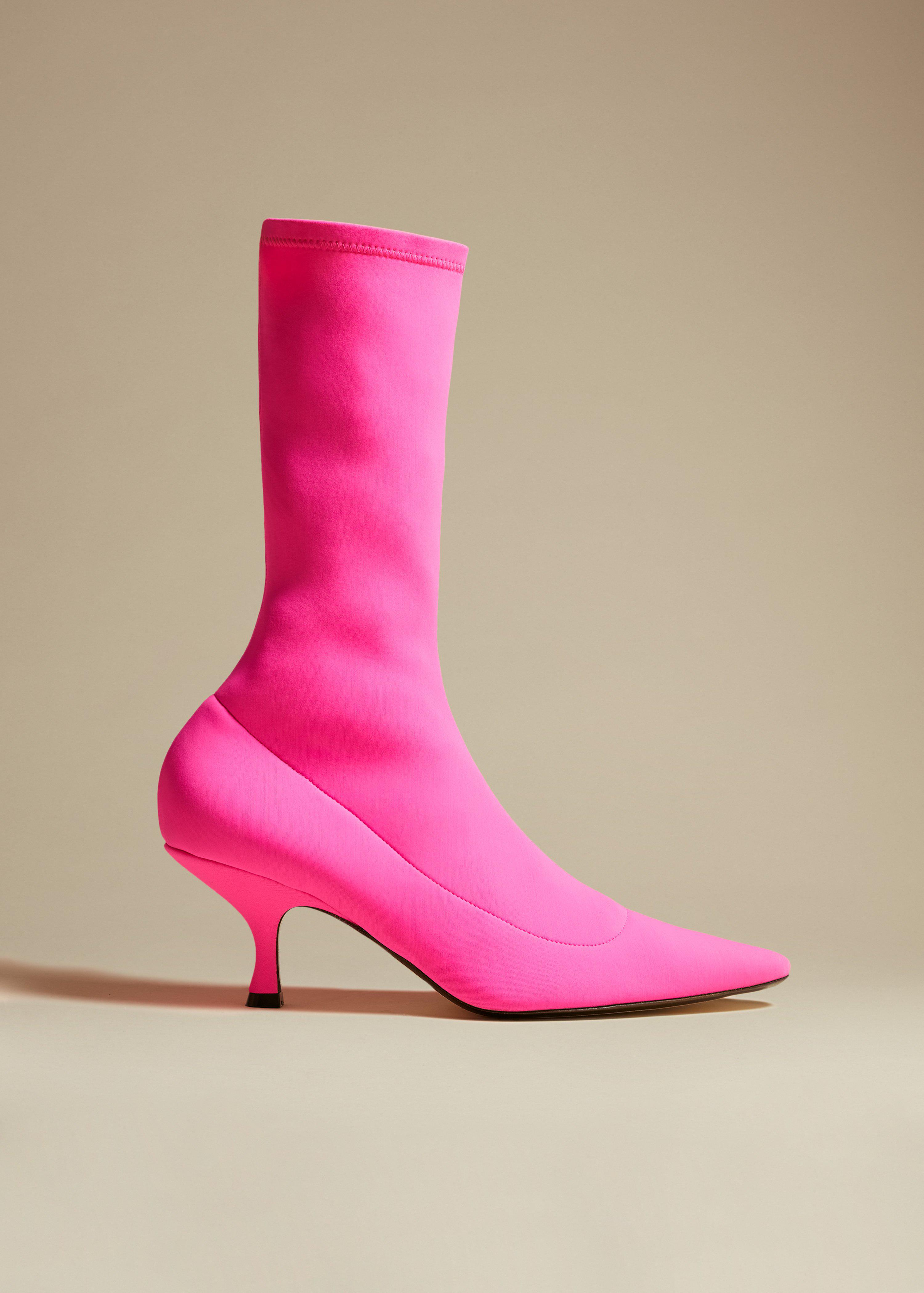 The Taylor Boot in Pink
