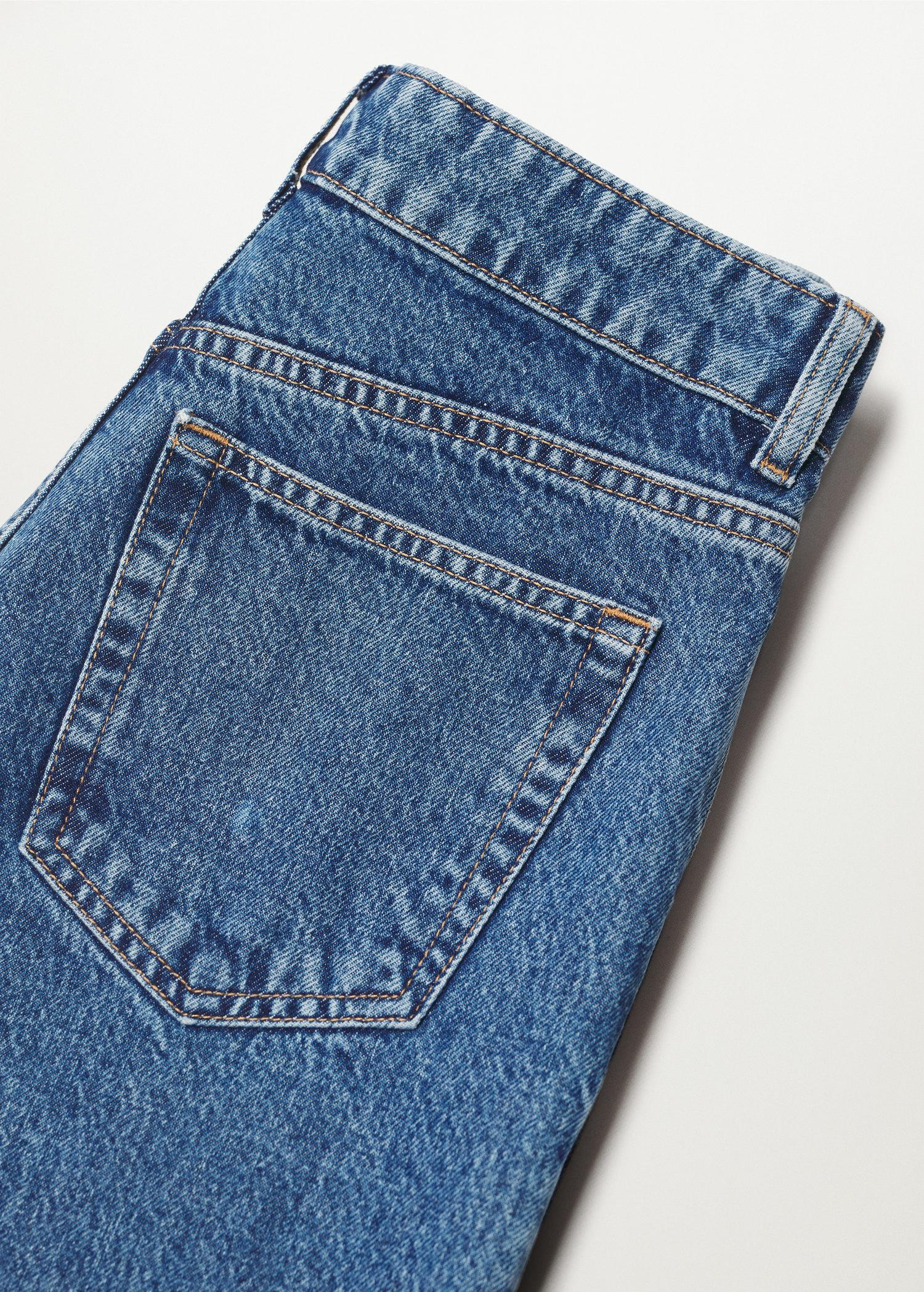 100% cotton mom-fit jeans 7