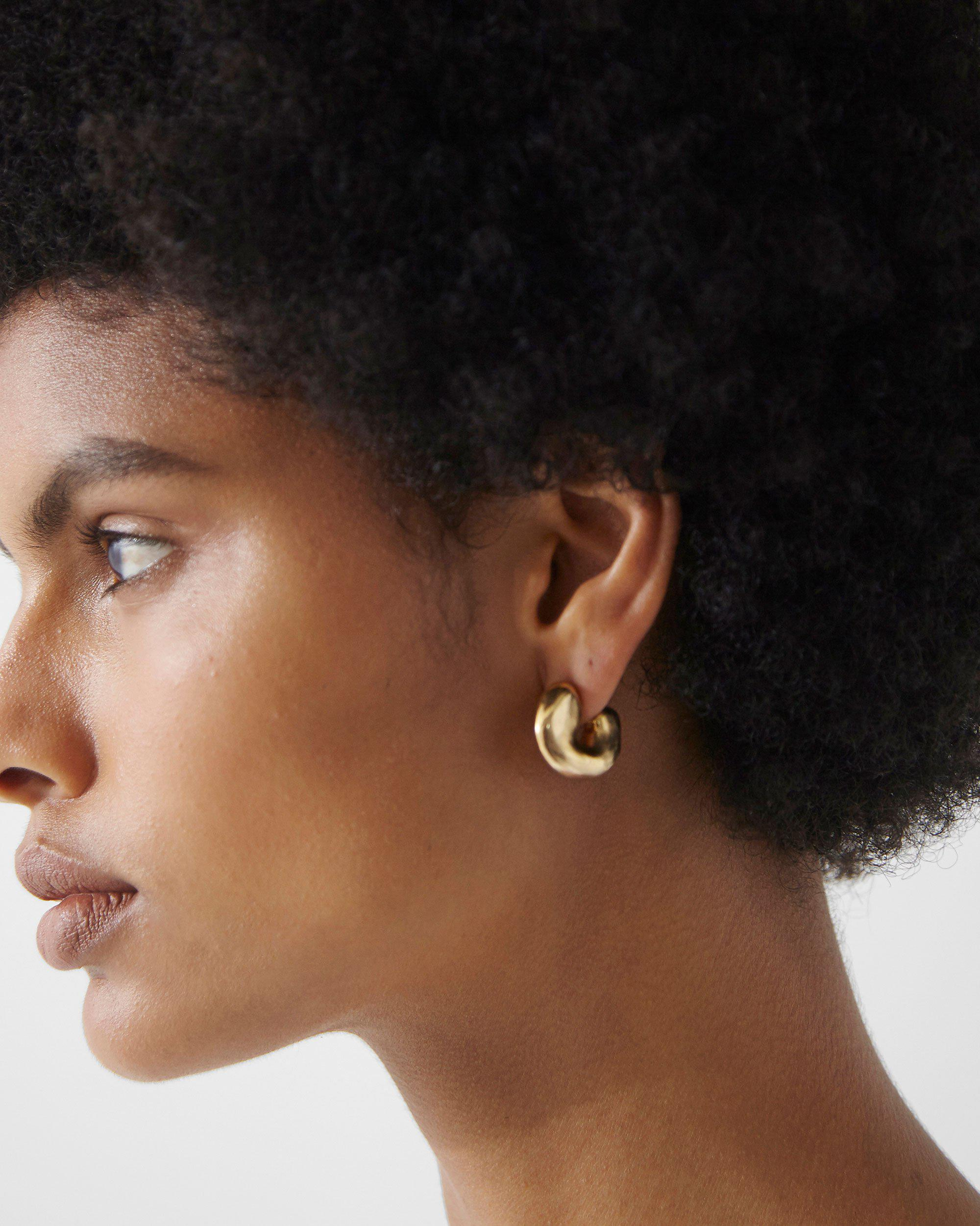 Volume Hoops Gold Plated 2