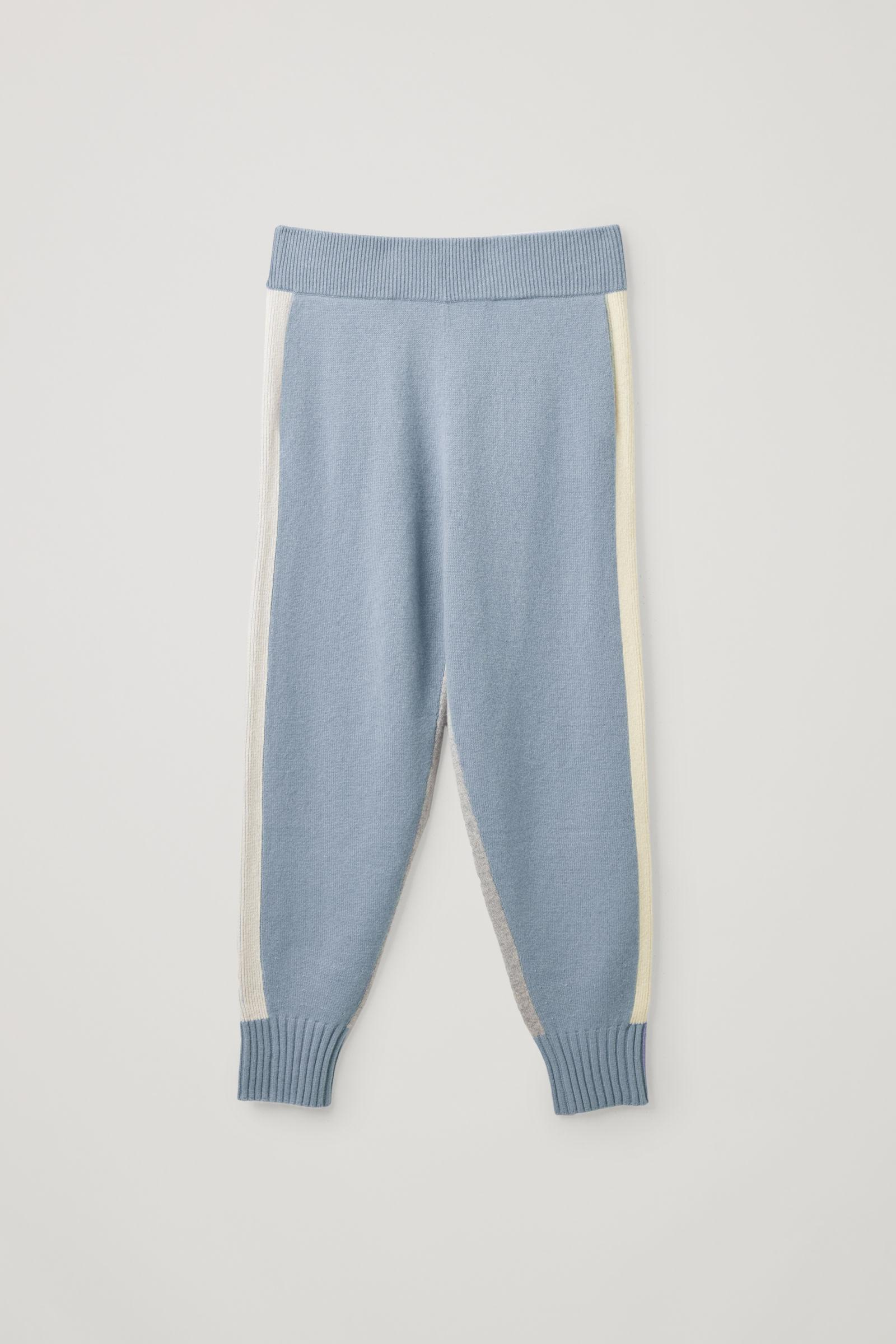 CASHMERE KNITTED JOGGERS 6