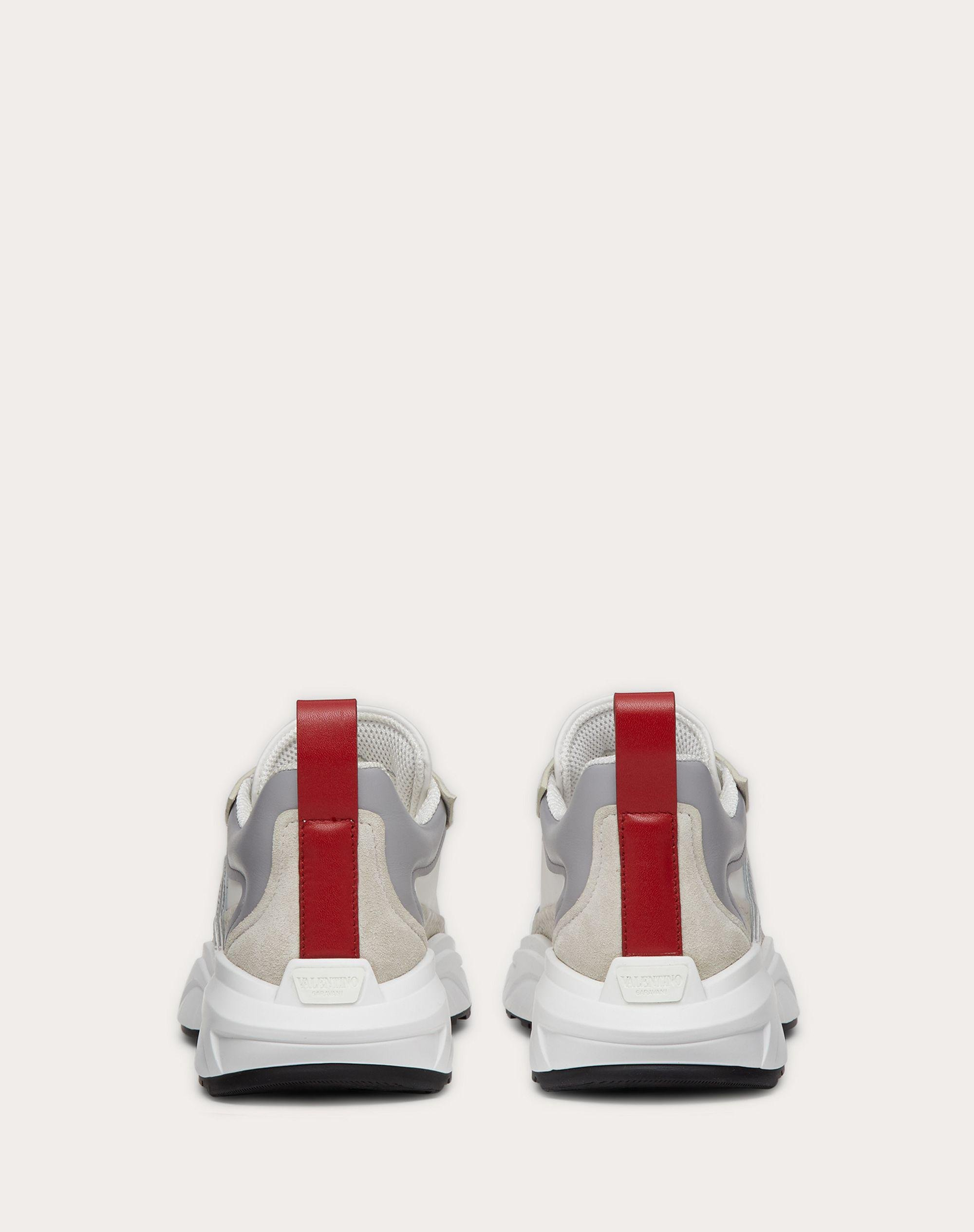 SHEGOES Sneaker in split leather and calfskin leather 2