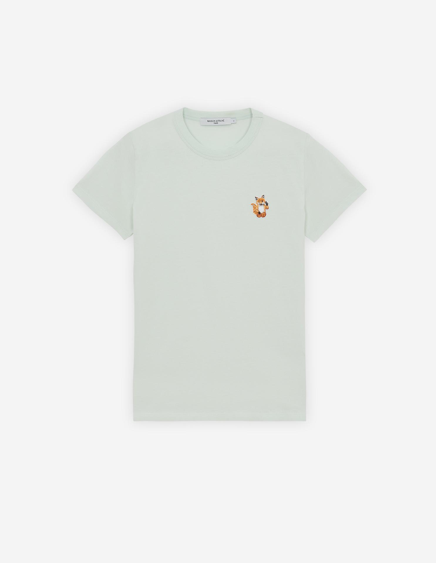 ALL RIGHT FOX PATCH CLASSIC TEE-SHIRT