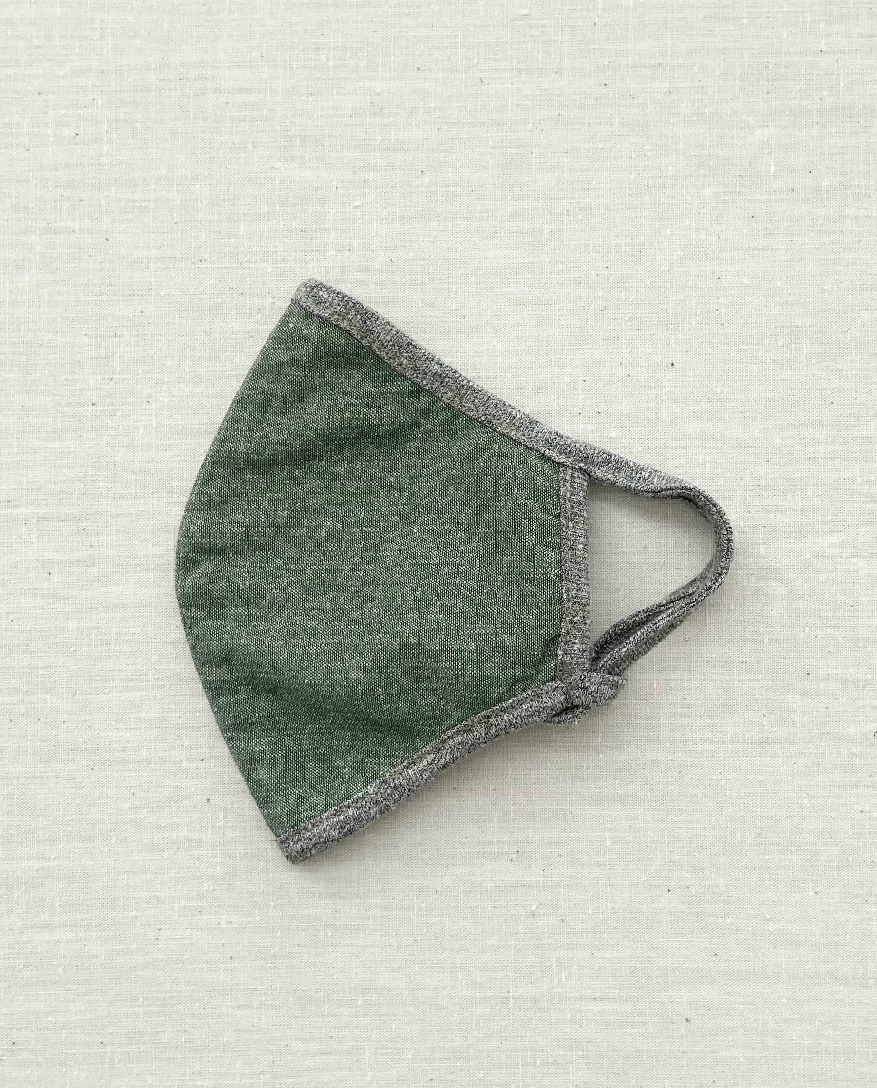 The Face Mask. -- Army Chambray