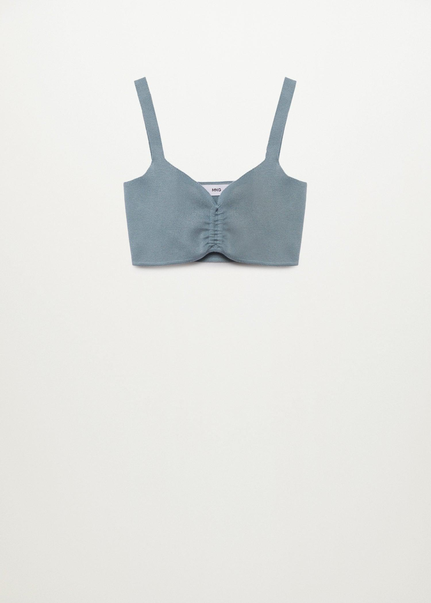 Knitted top with ruffle detail 7