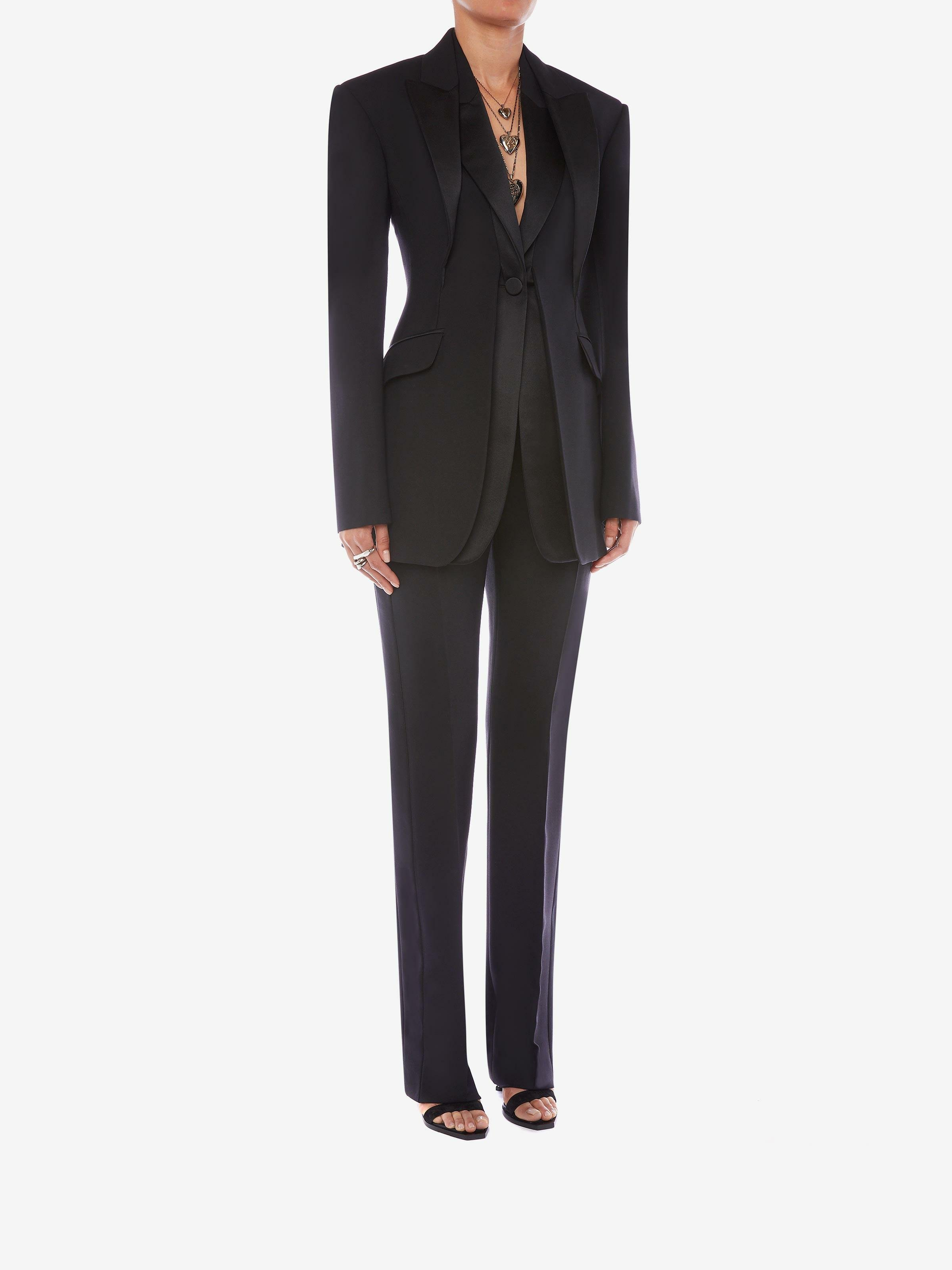 Double Duchesse High Waisted Trouser 1