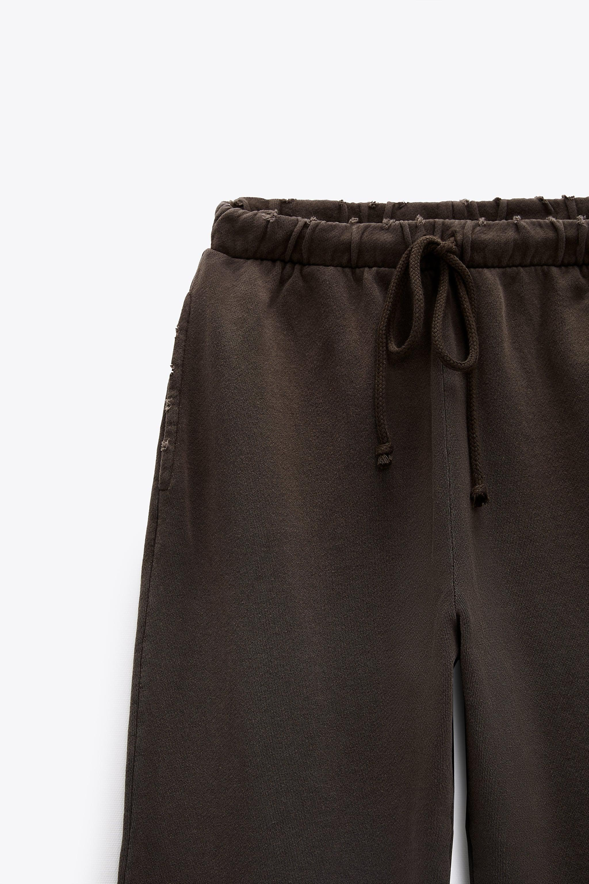 WASHED EFFECT JOGGER PANTS 4