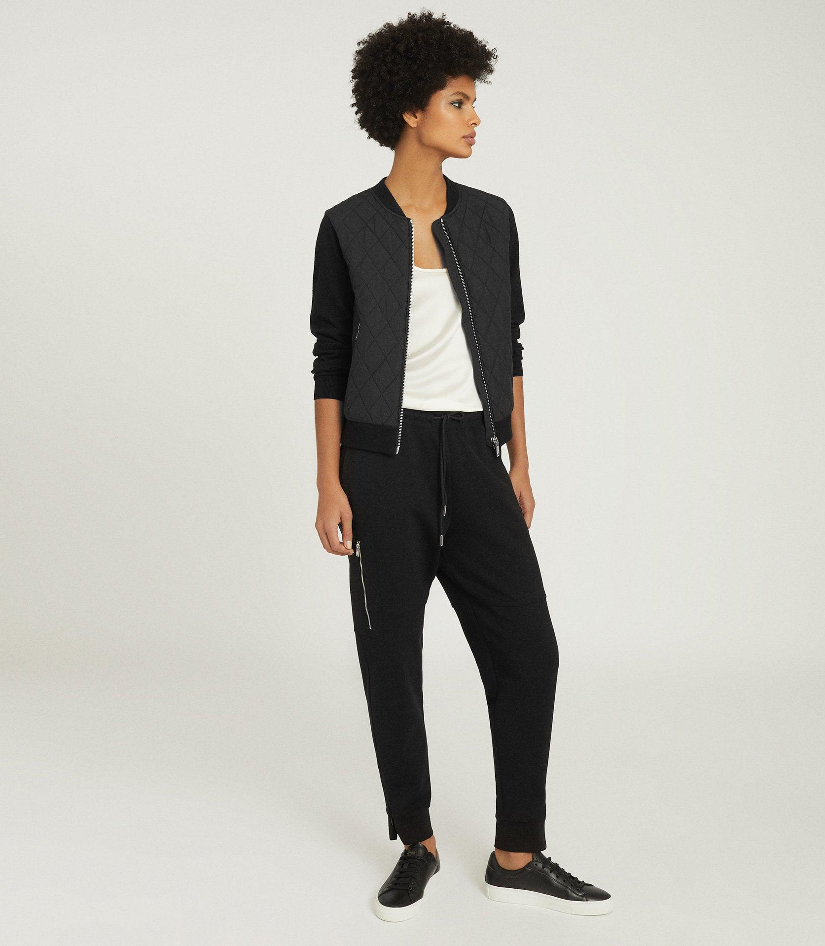 AYLA - HYBRID ZIP THROUGH QUILTED JUMPER