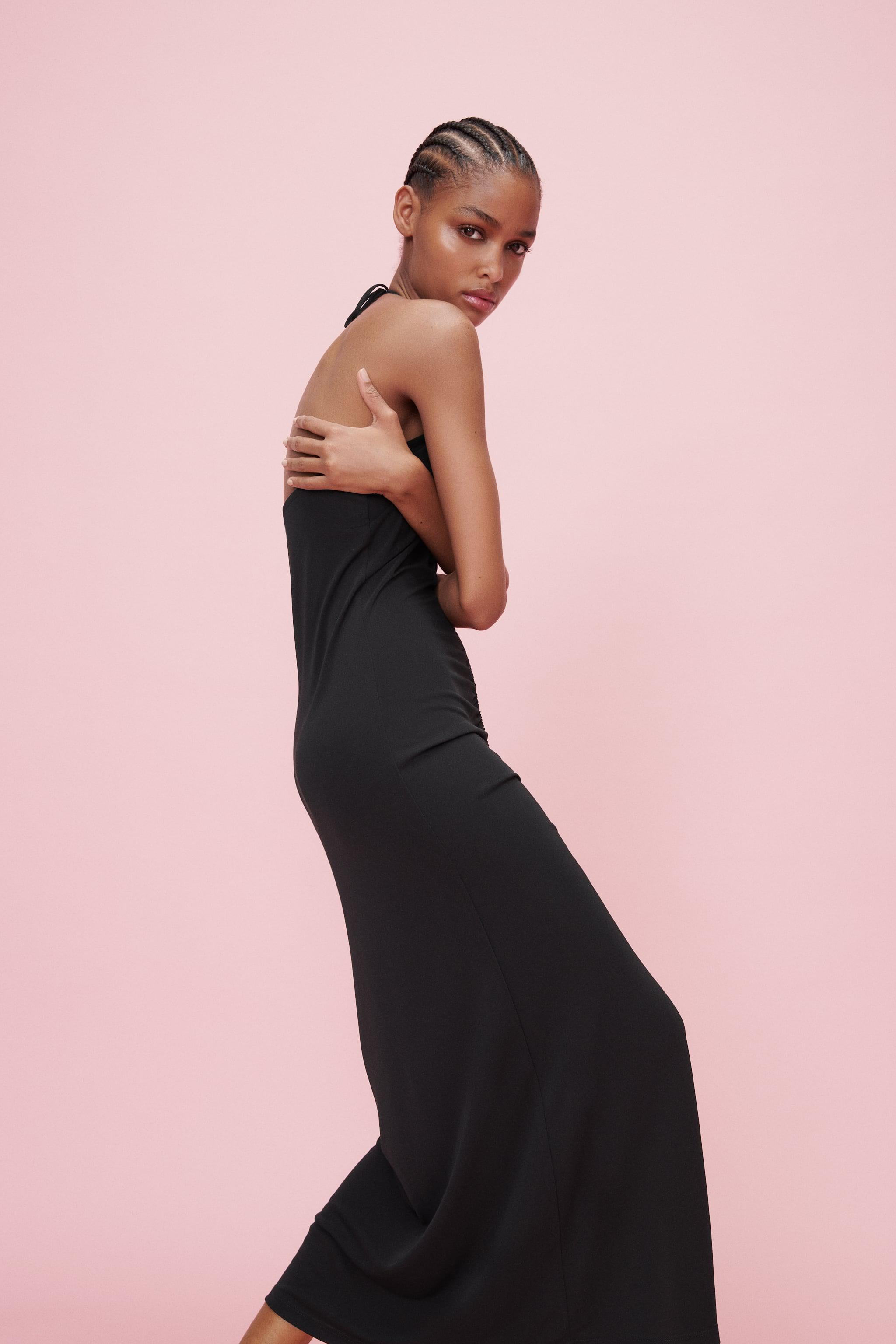 LONG RUCHED DRESS 4