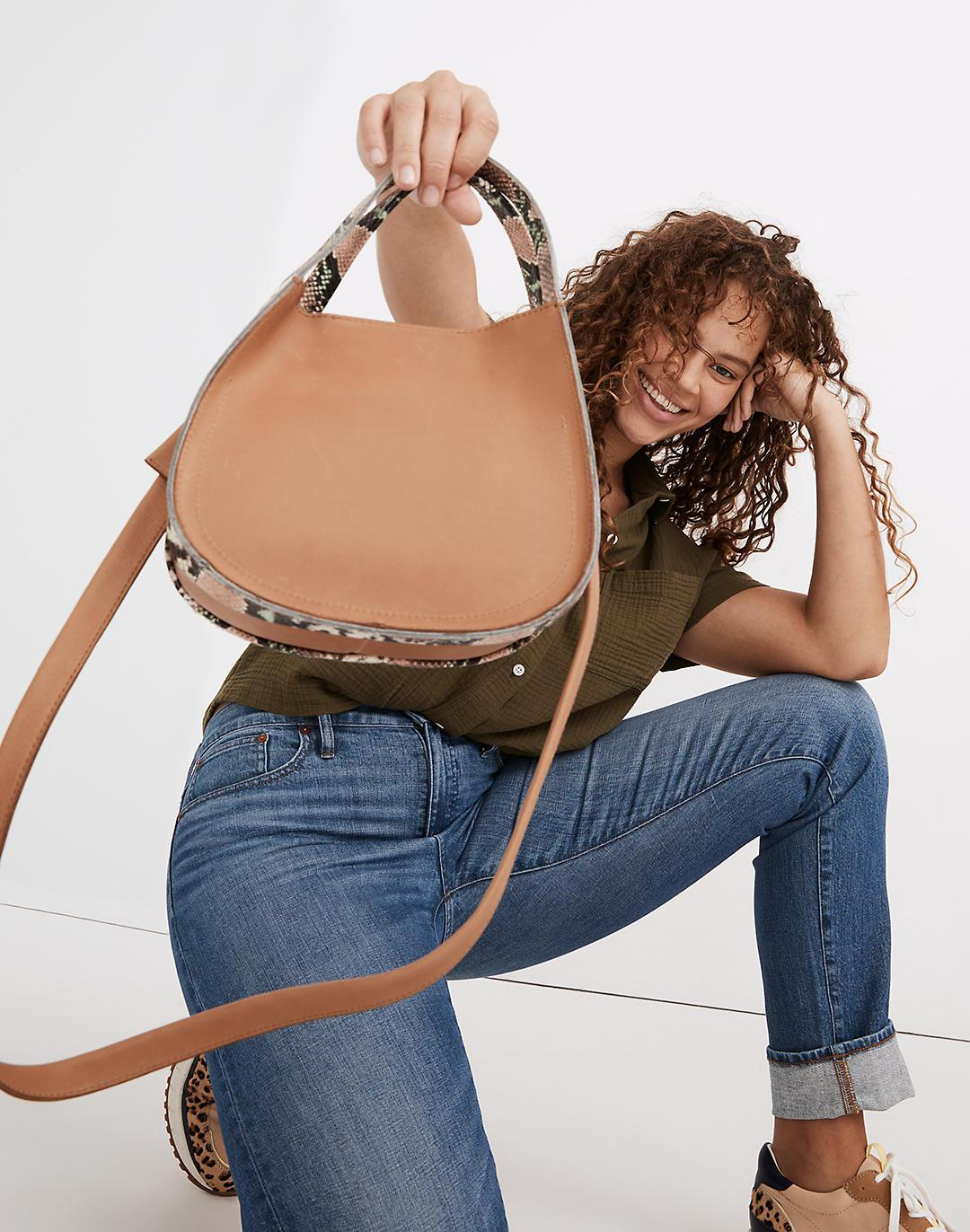 The Sydney Crossbody Bag: Snake Embossed Leather Edition 2