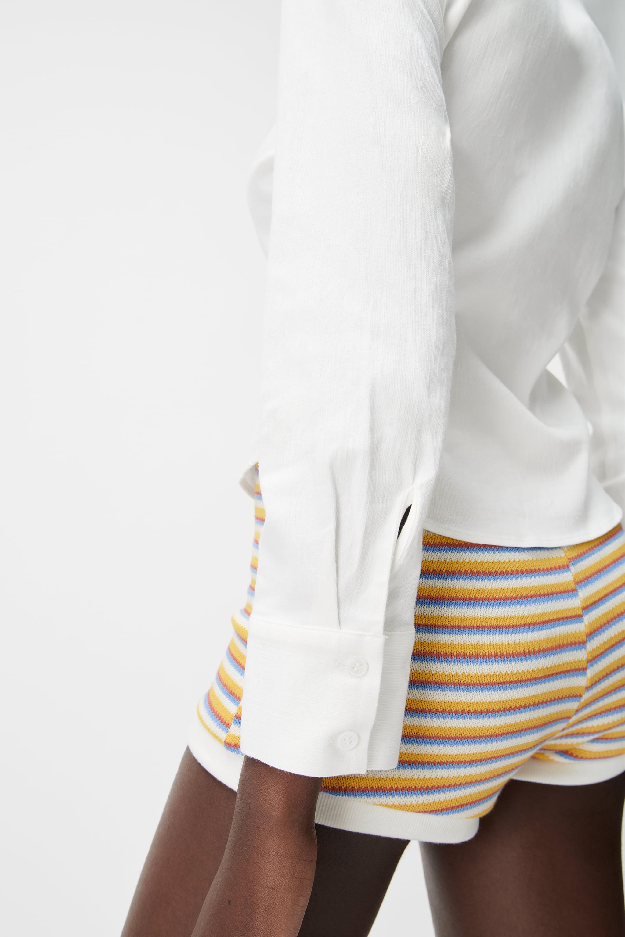 PLEATED TAILORED SHIRT 3