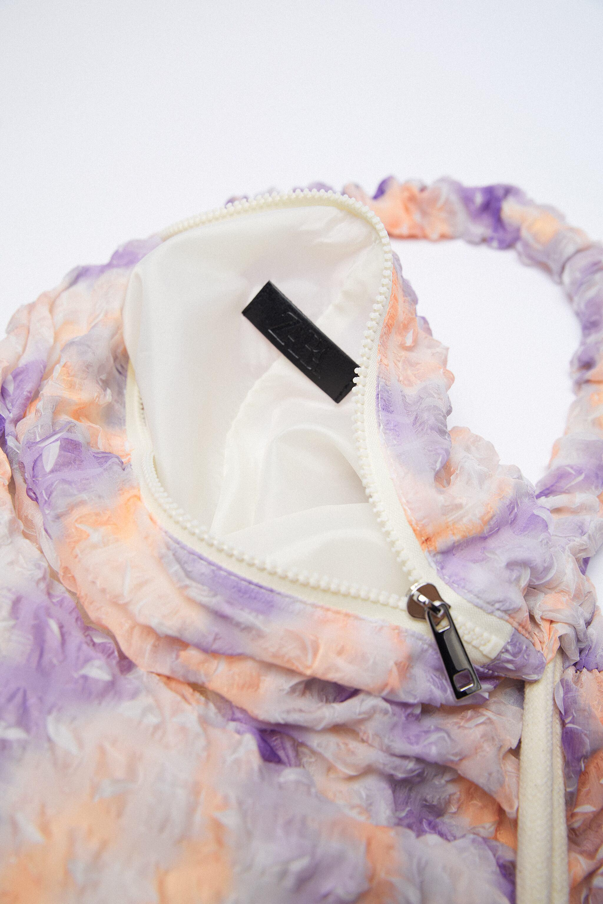FABRIC BUCKET BAG WITH STRAP 5