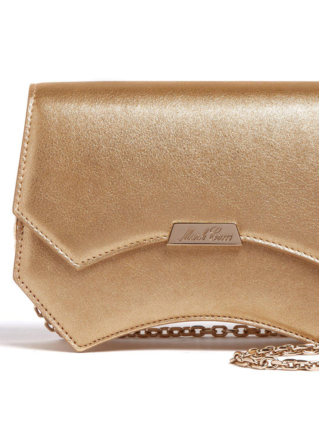 Madeline Evening Leather Clutch 2