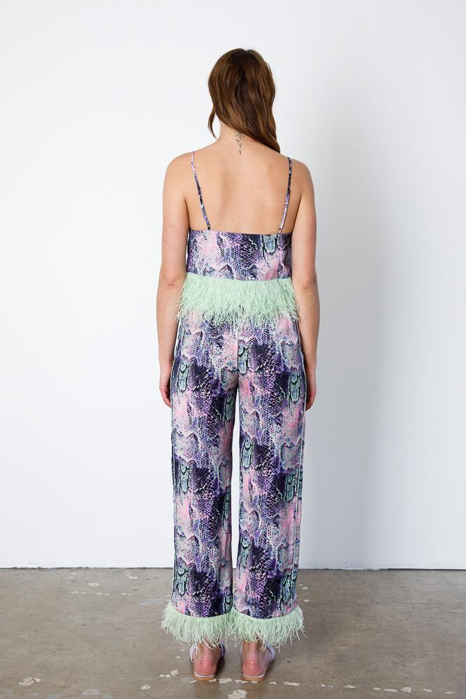 Minted Feather Cami 5