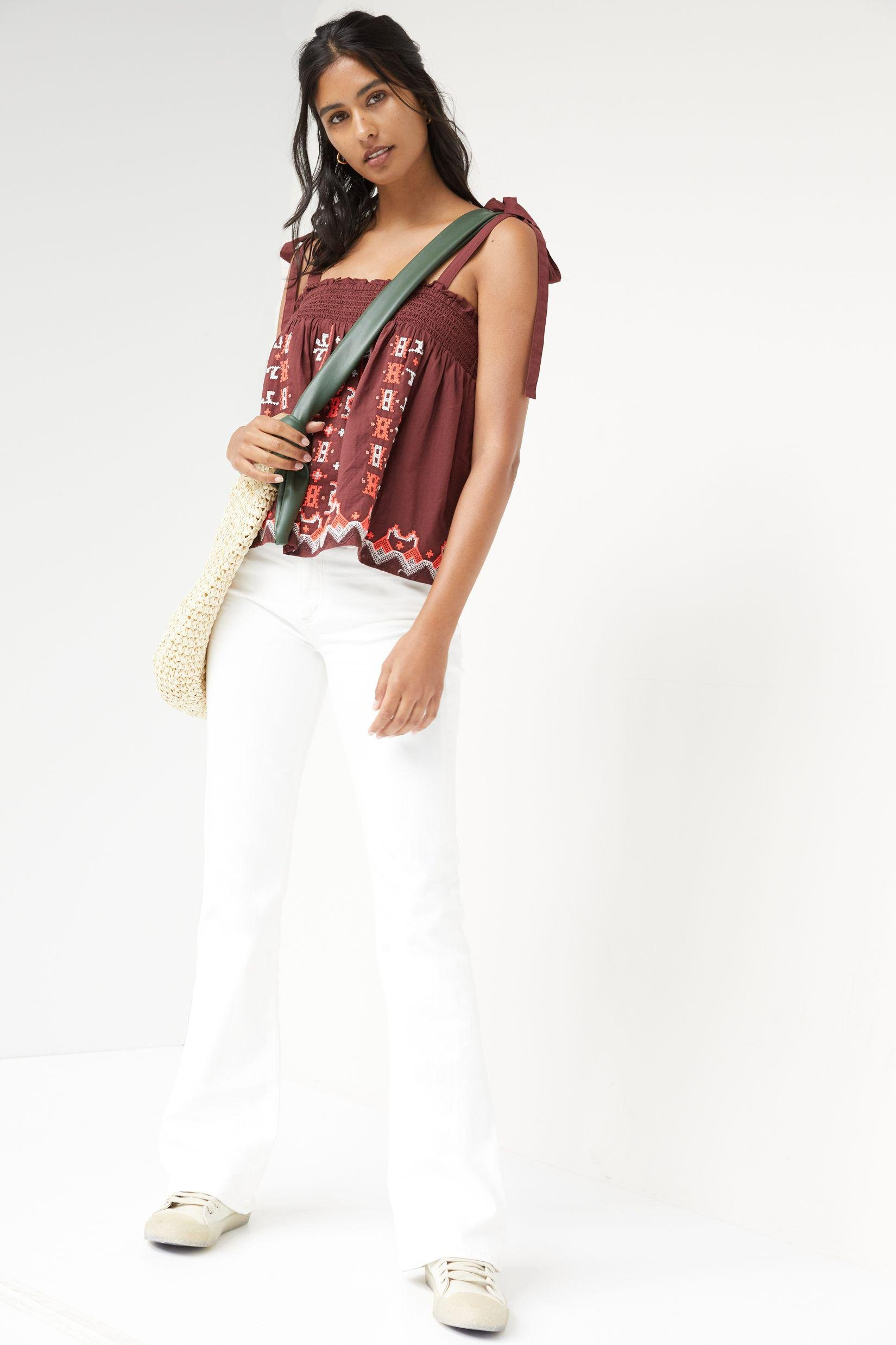 Embroidered Swing Tank 2
