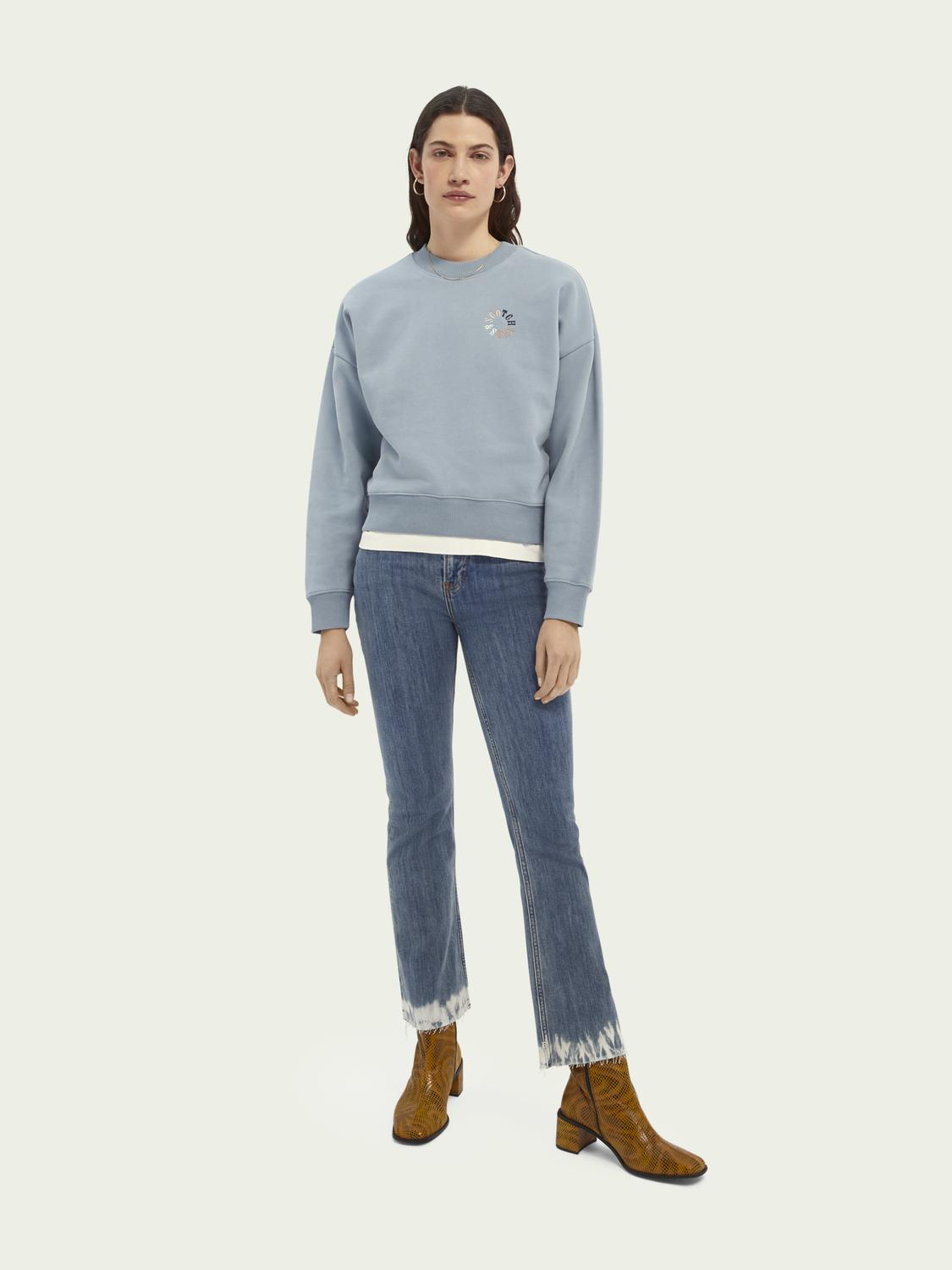 Relaxed-fit organic cotton sweater 1