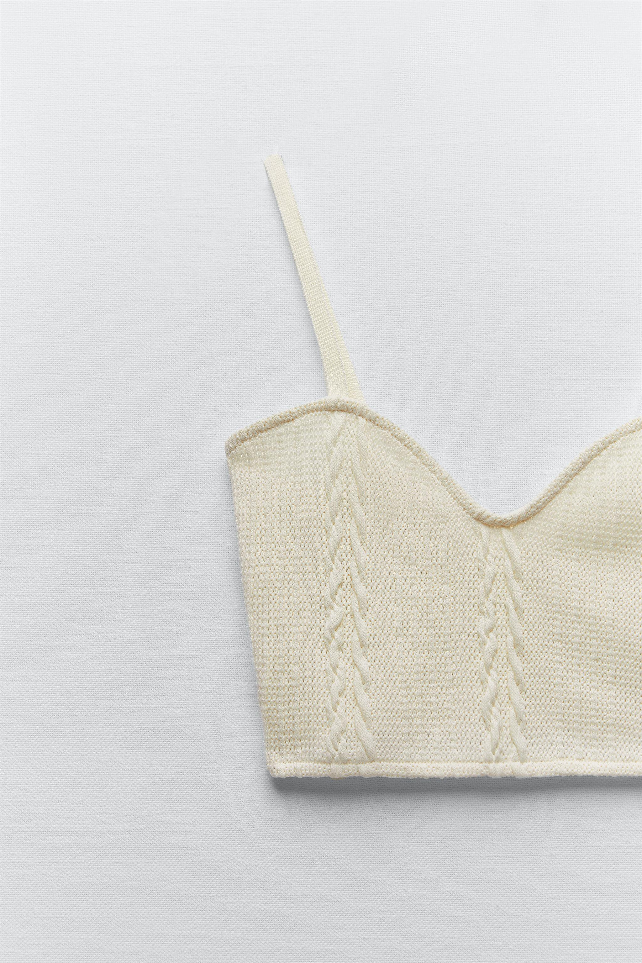 CABLE-KNIT CROP TOP 4