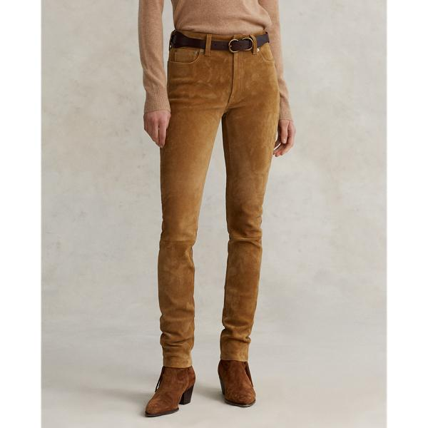 Suede Stretch Pant