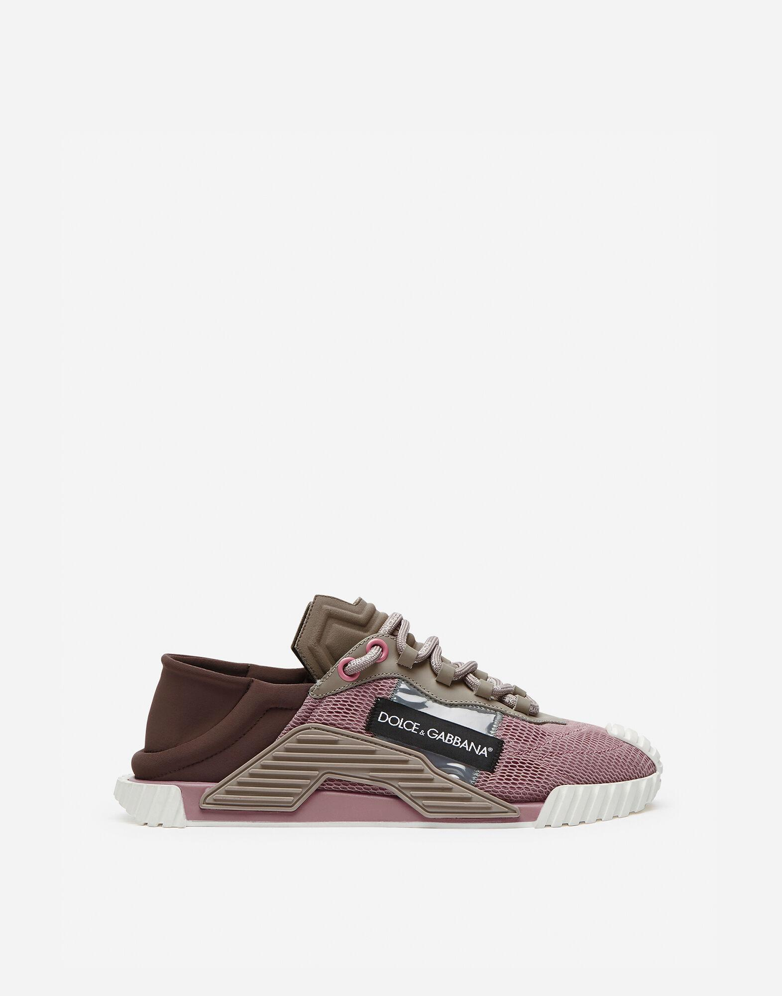 NS1 slip on sneakers in mixed materials 0