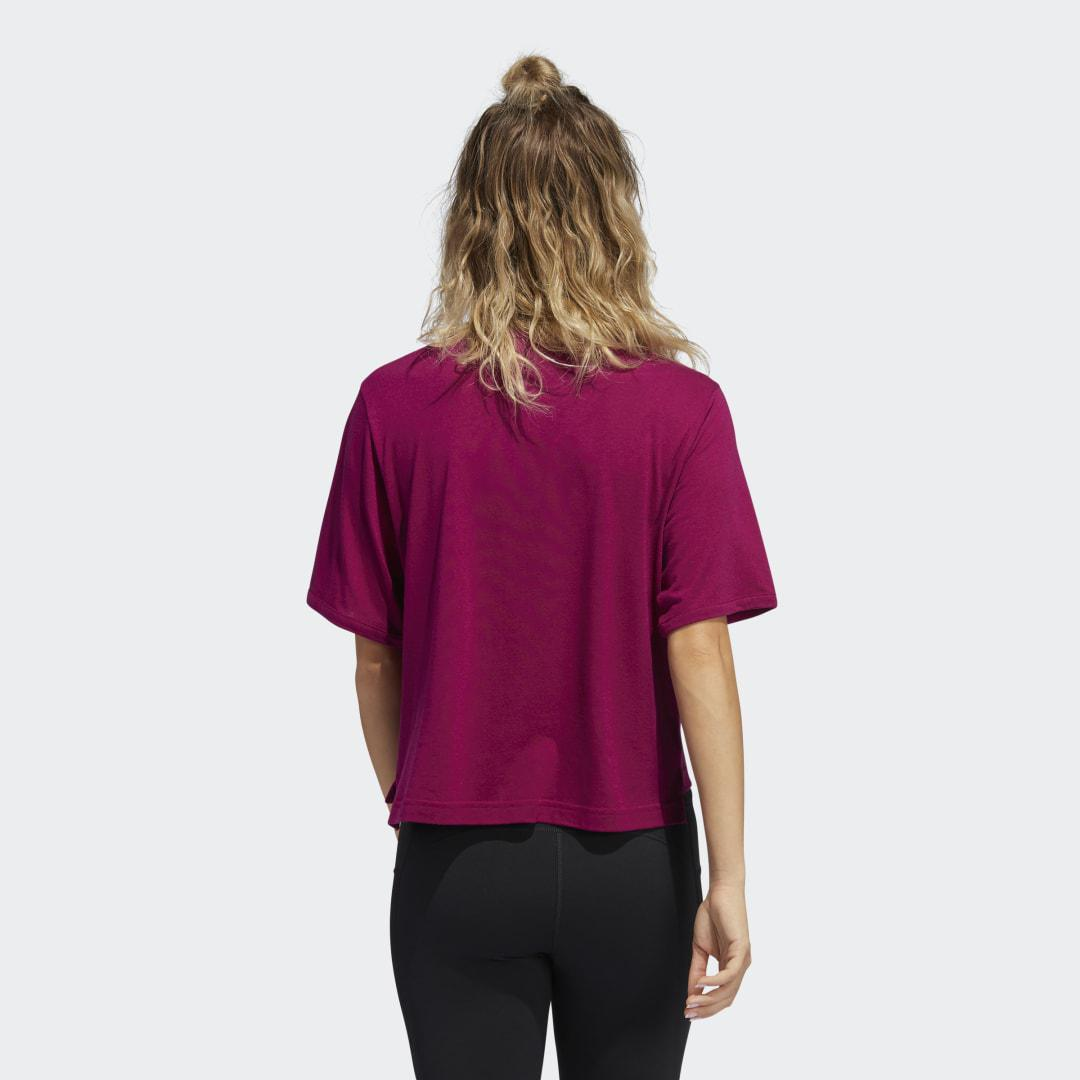 Holiday Tee Power Berry XL - Womens Training T Shirts 1