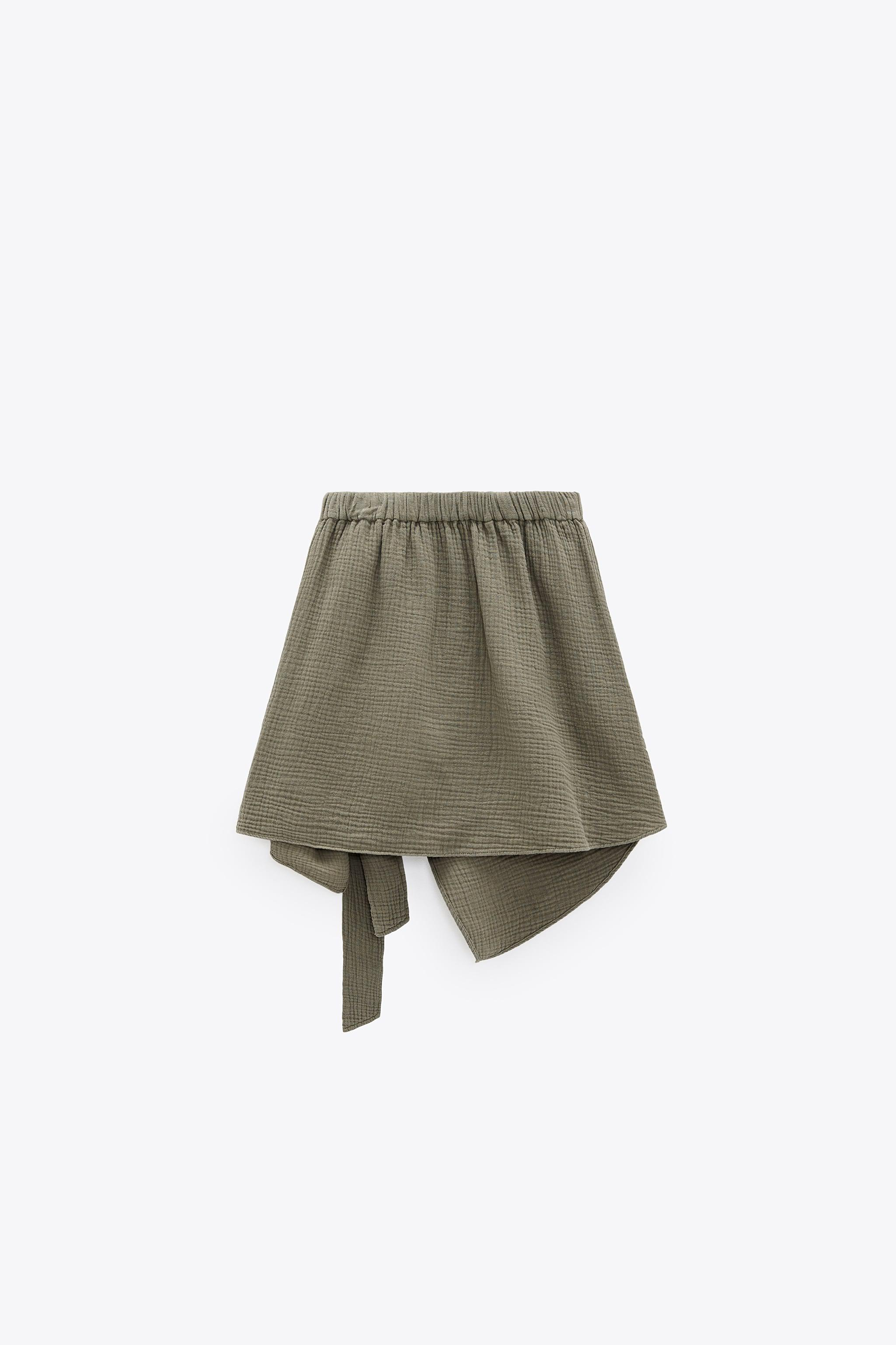 SOFT KNOTTED SKIRT 5