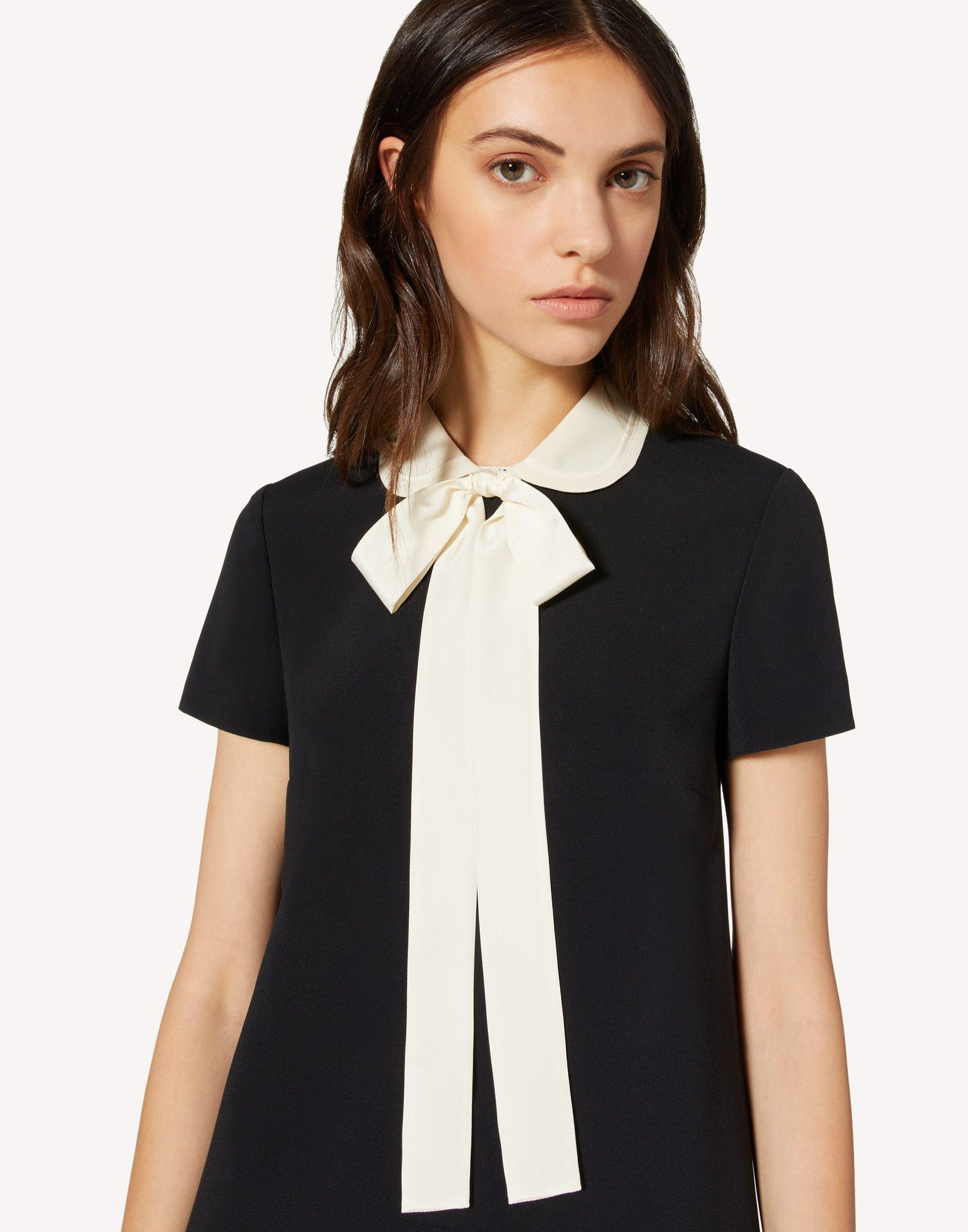 FRISOTTINO DRESS WITH COLLAR DETAIL 3