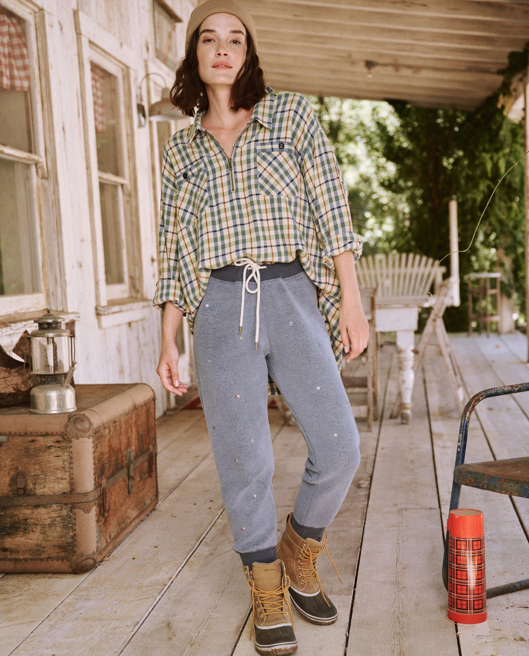 The Mountaineer Pullover. -- Piney Woods Plaid