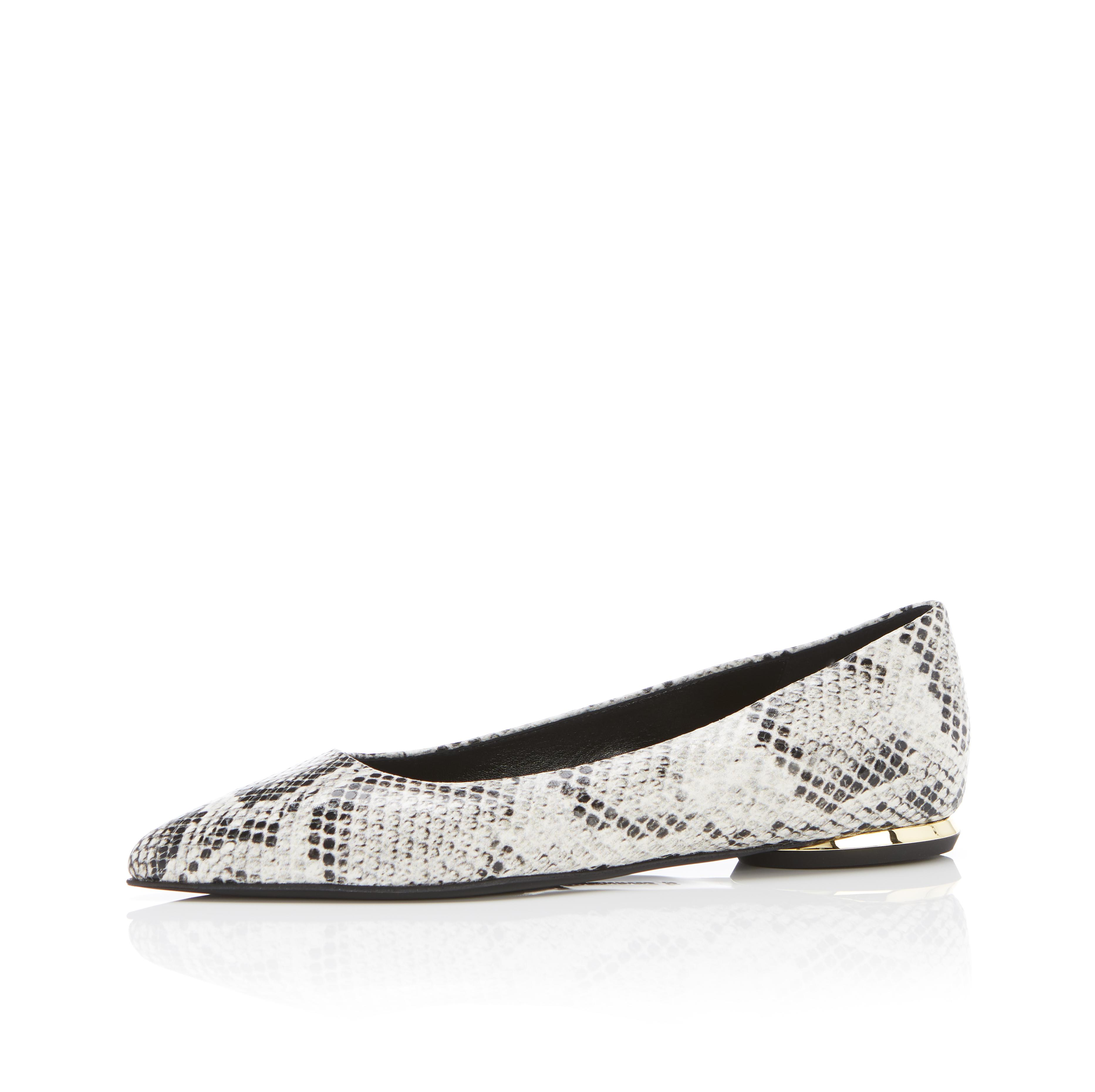 Must Have Flat   Python Snake Print Classic Pointy Toe Flat 1