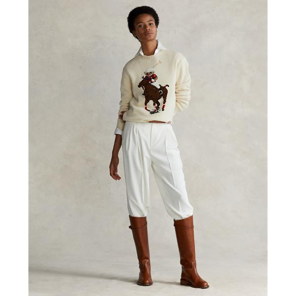 Polo Bear Embroidered Sweater