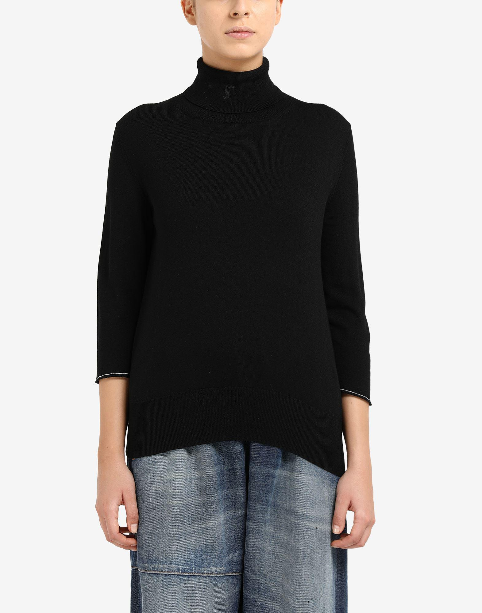 Cropped elbow patch sweater 3