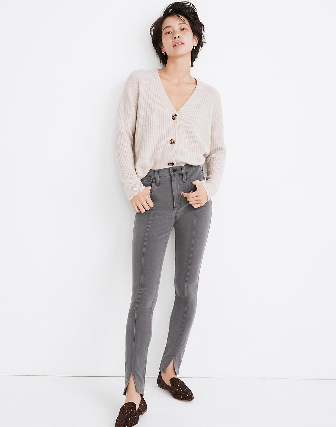 """10"""" High-Rise Roadtripper Jeans in Carlin Wash: Slit-Front Edition"""