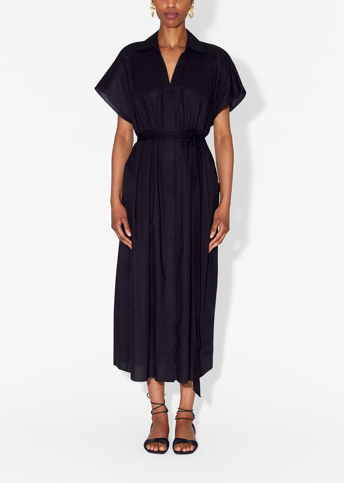SHIRT DRESS IN COTTON VOILE 2