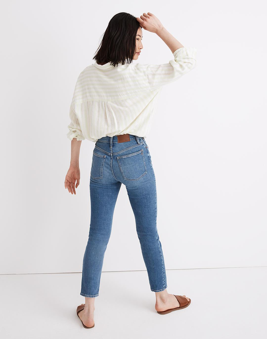 The Perfect Vintage Crop Jean in Sandford Wash: Summerweight Edition 1