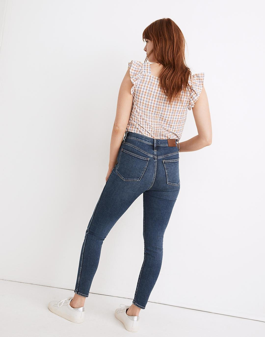 Petite Curvy High-Rise Skinny Jeans in Wendover Wash: TENCEL™ Denim Edition 2
