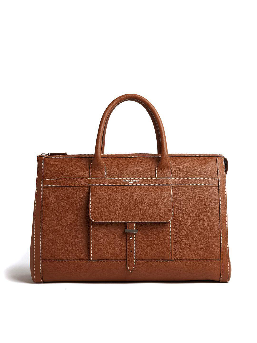 Mick Holdall Leather Duffle Bag 5