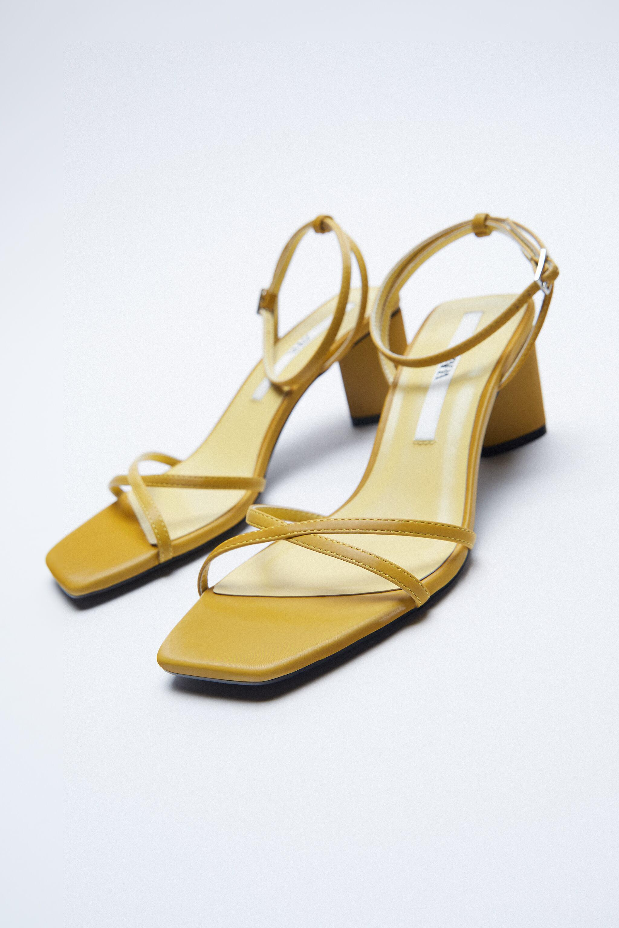 HEELED SANDALS WITH THIN STRAPS 1