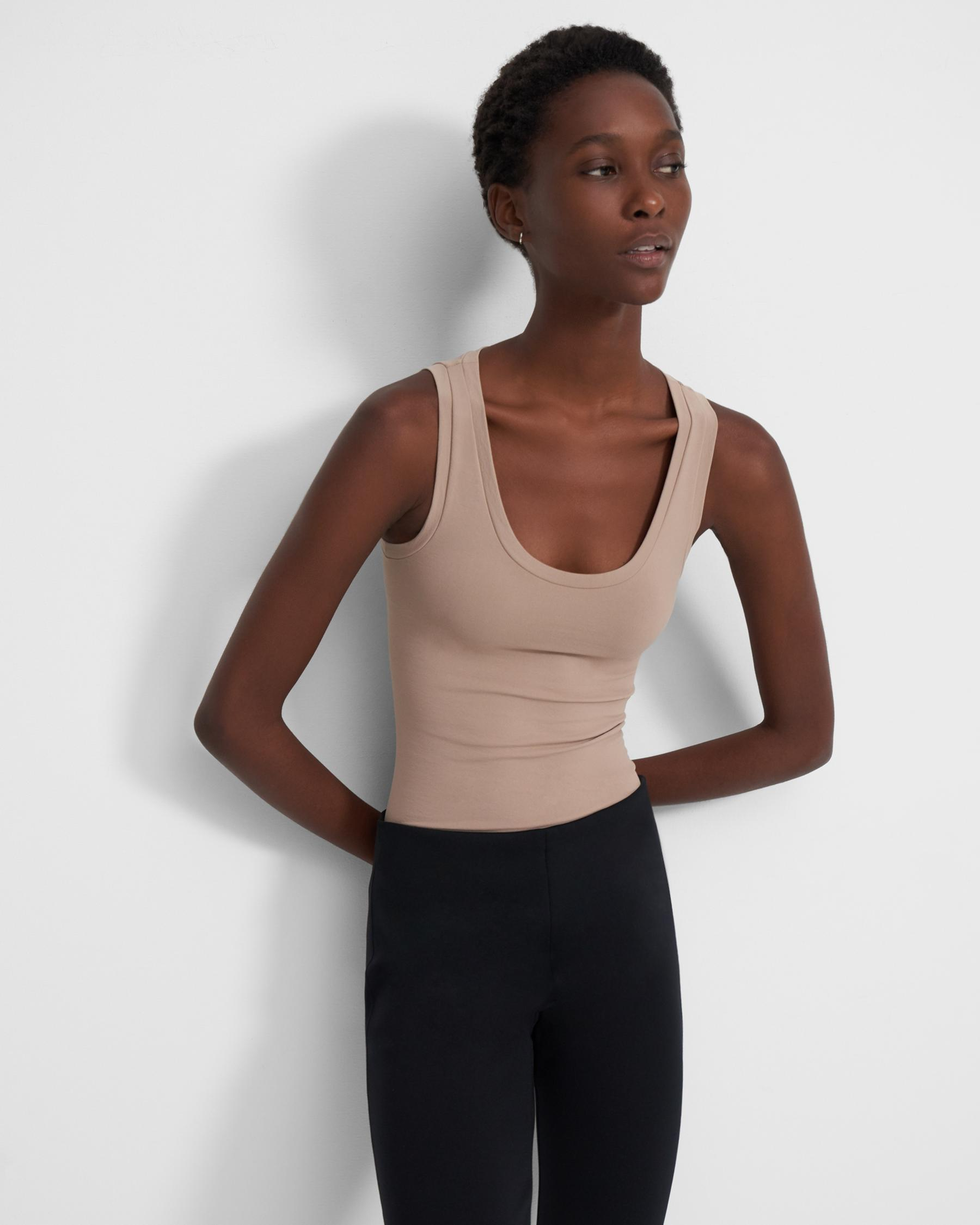 Tank Top in Stretch Jersey 2