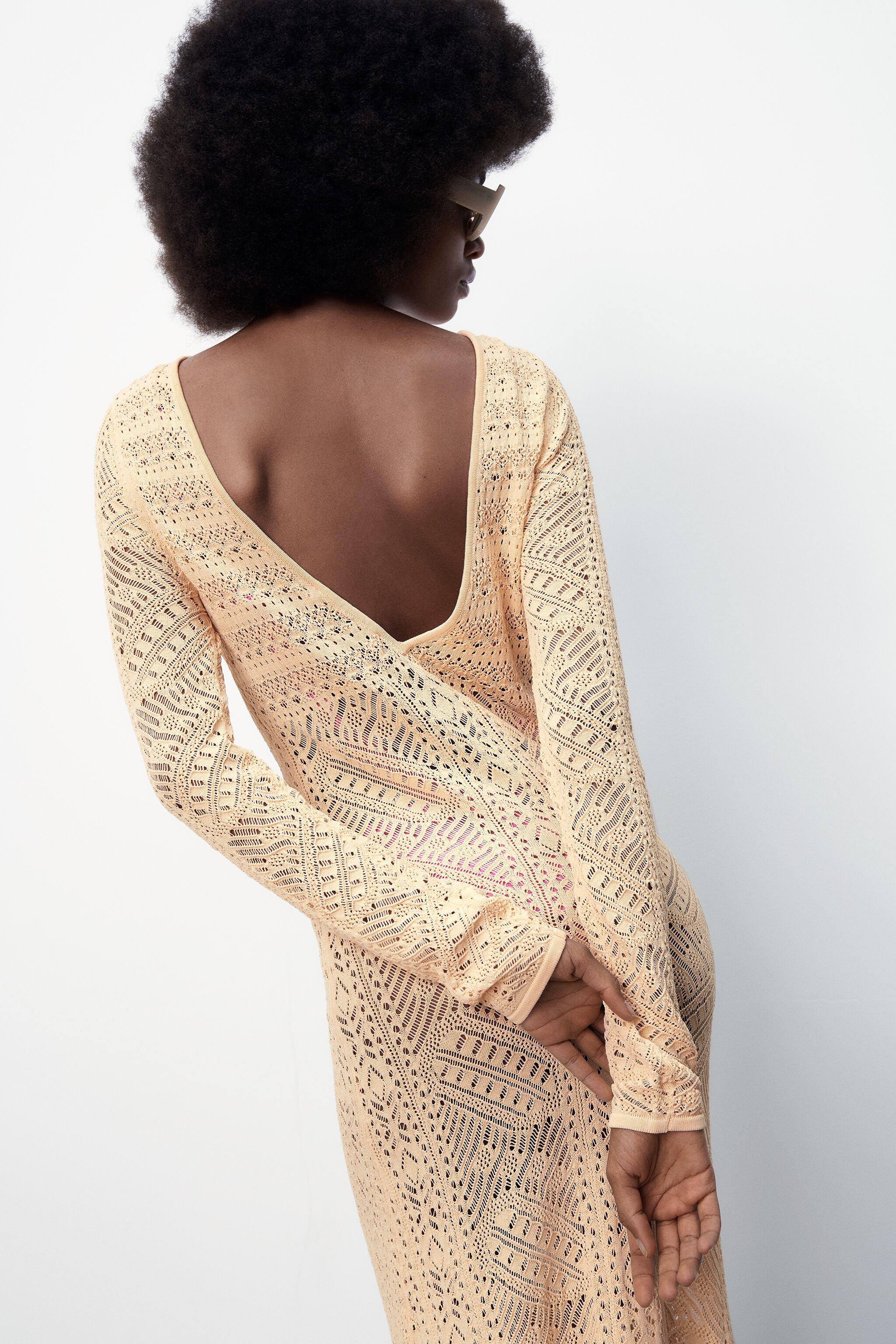 POINTELLE KNIT DRESS LIMITED EDITION 1