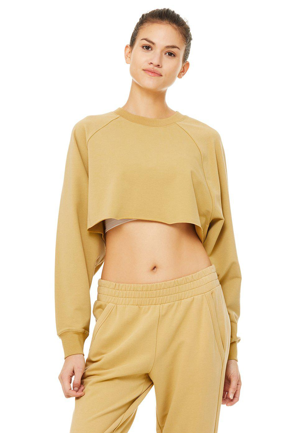 Double Take Pullover - Honey
