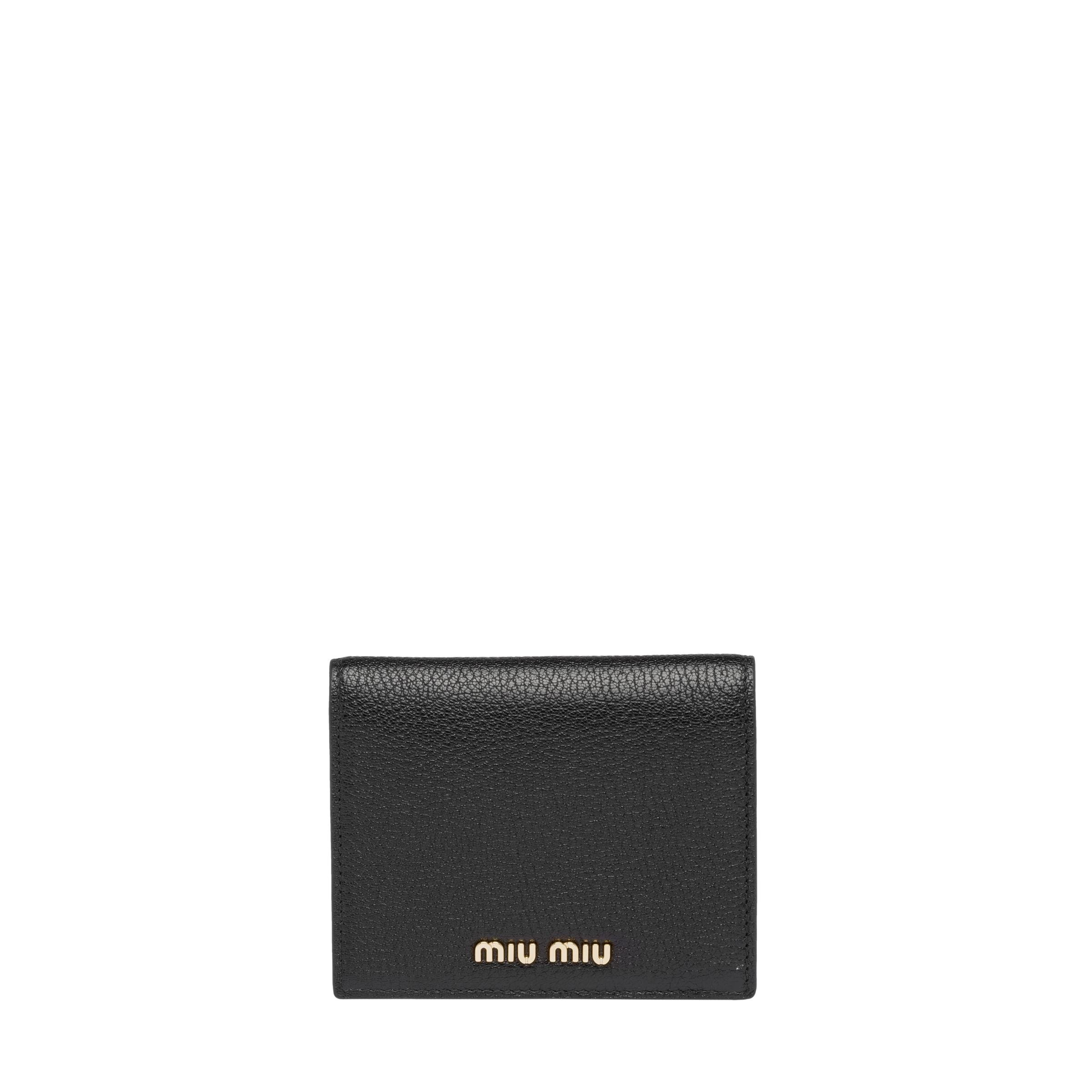 Madras Colour Leather Wallet Women Black/fiery Red 0