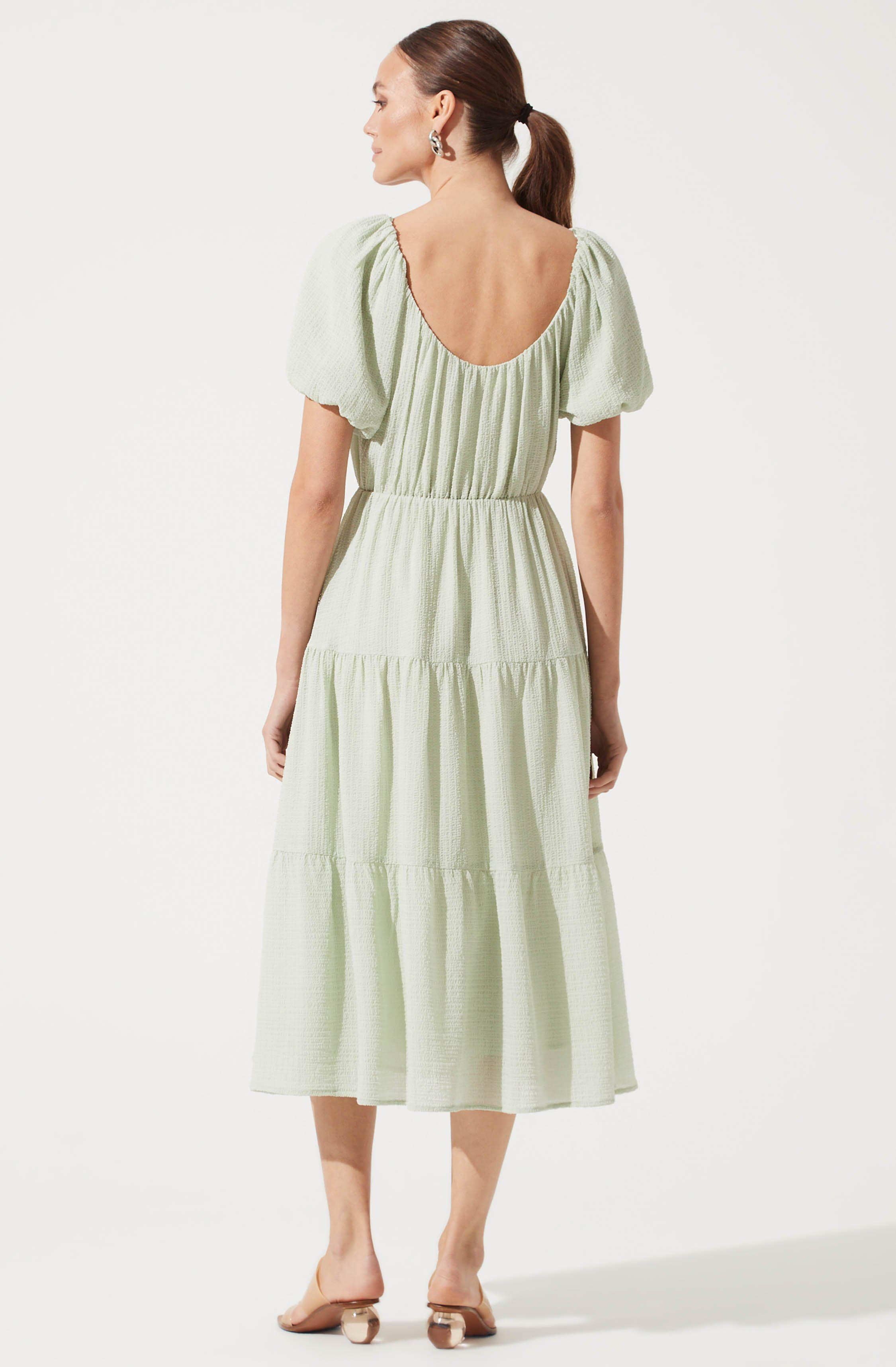 Smocked Tiered Maxi 1