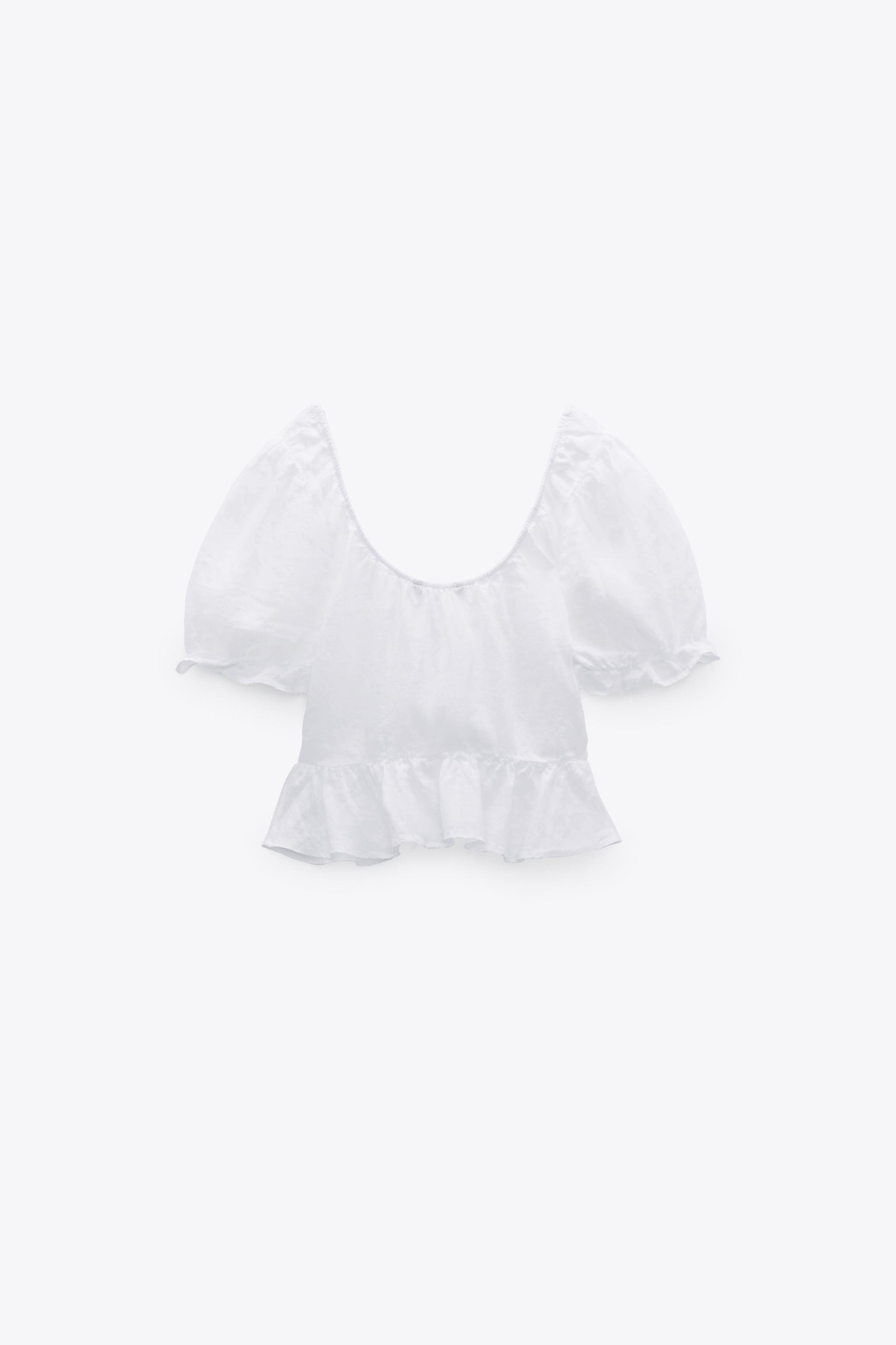 LINEN TOP WITH BOWS 3