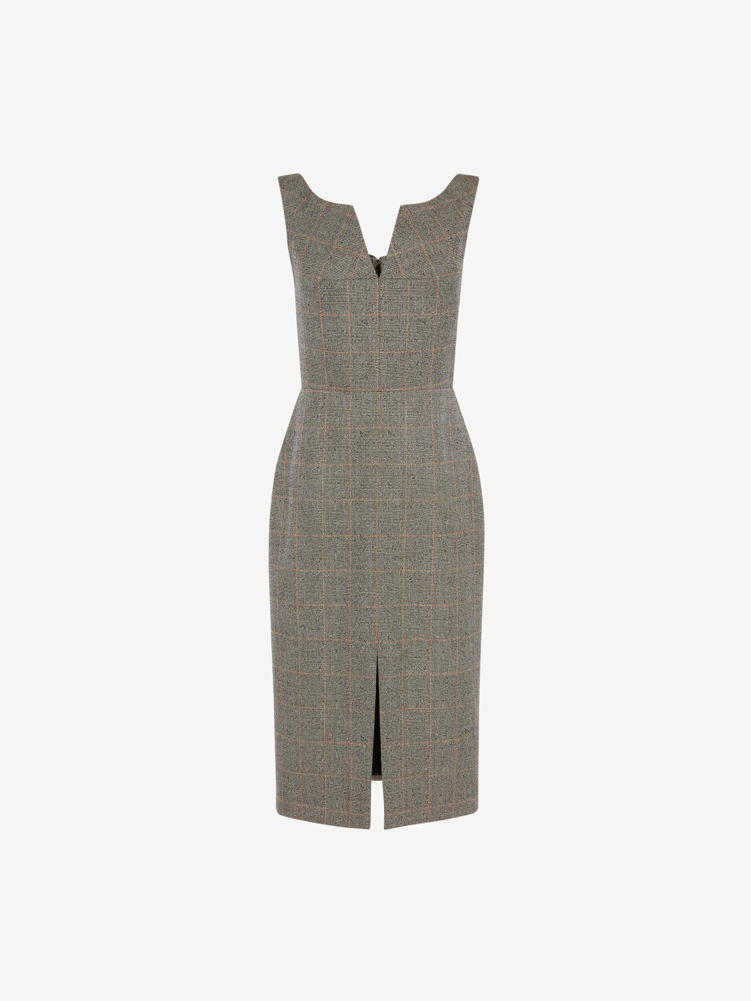 Prince of Wales Pencil Dress 3