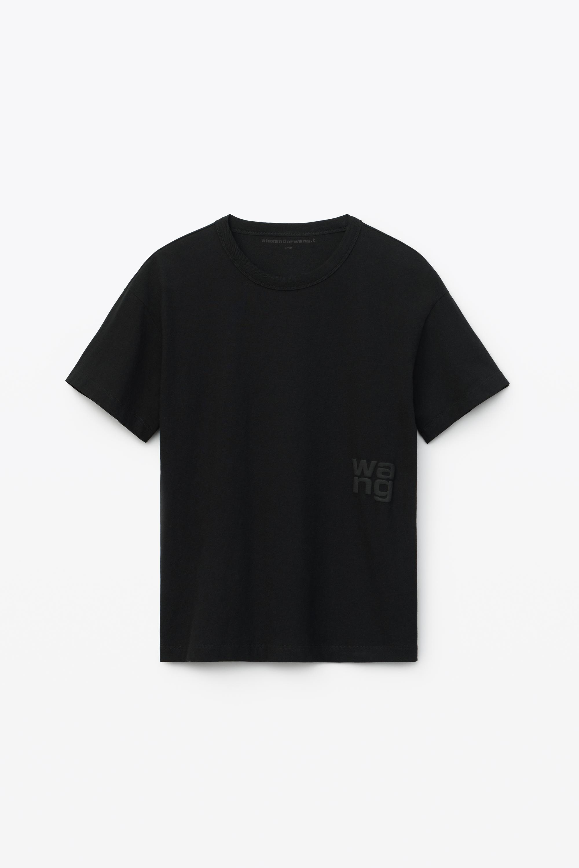 puff logo tee in cotton jersey 1