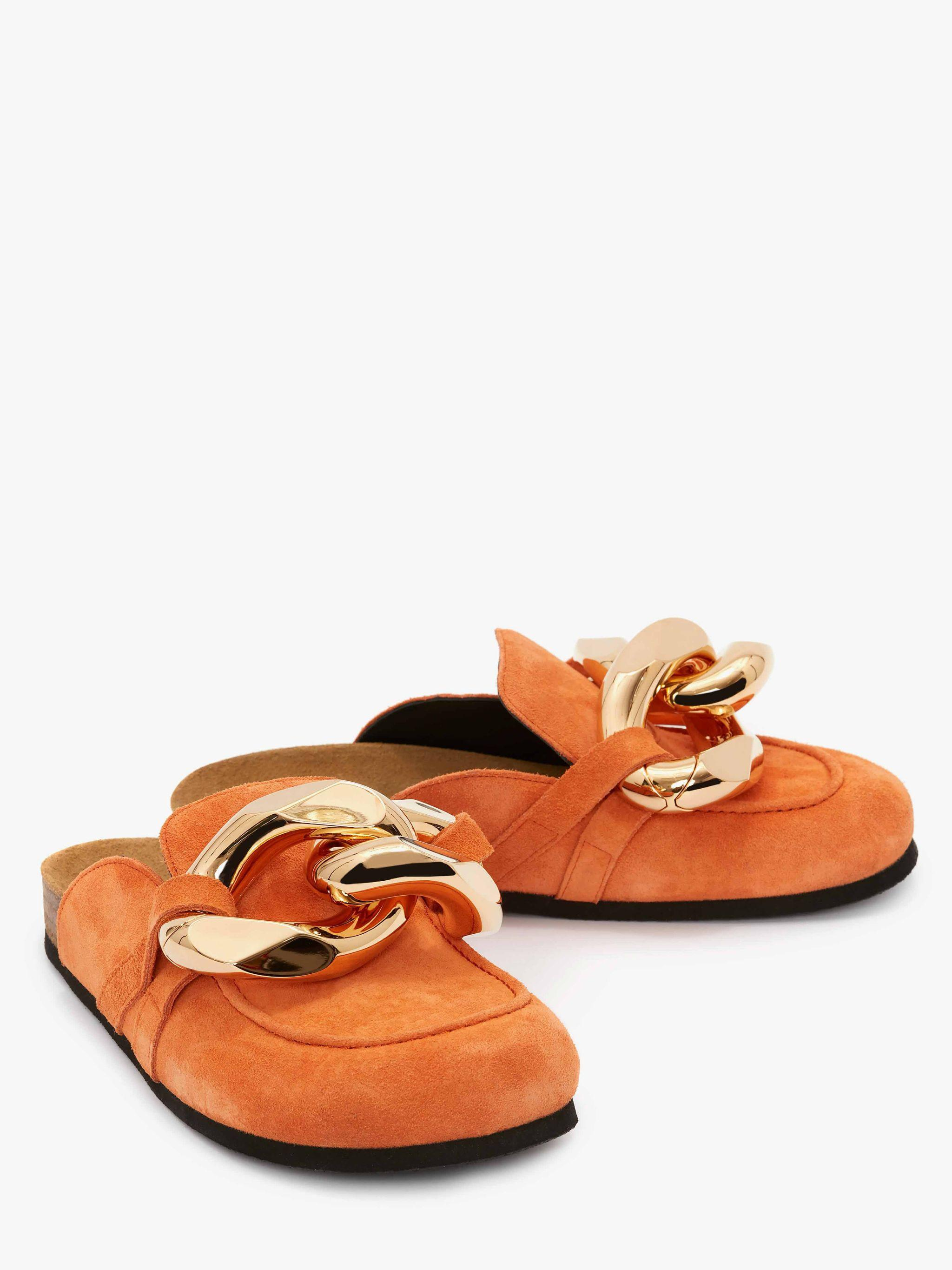 WOMEN'S CHAIN LOAFER - SUEDE 1
